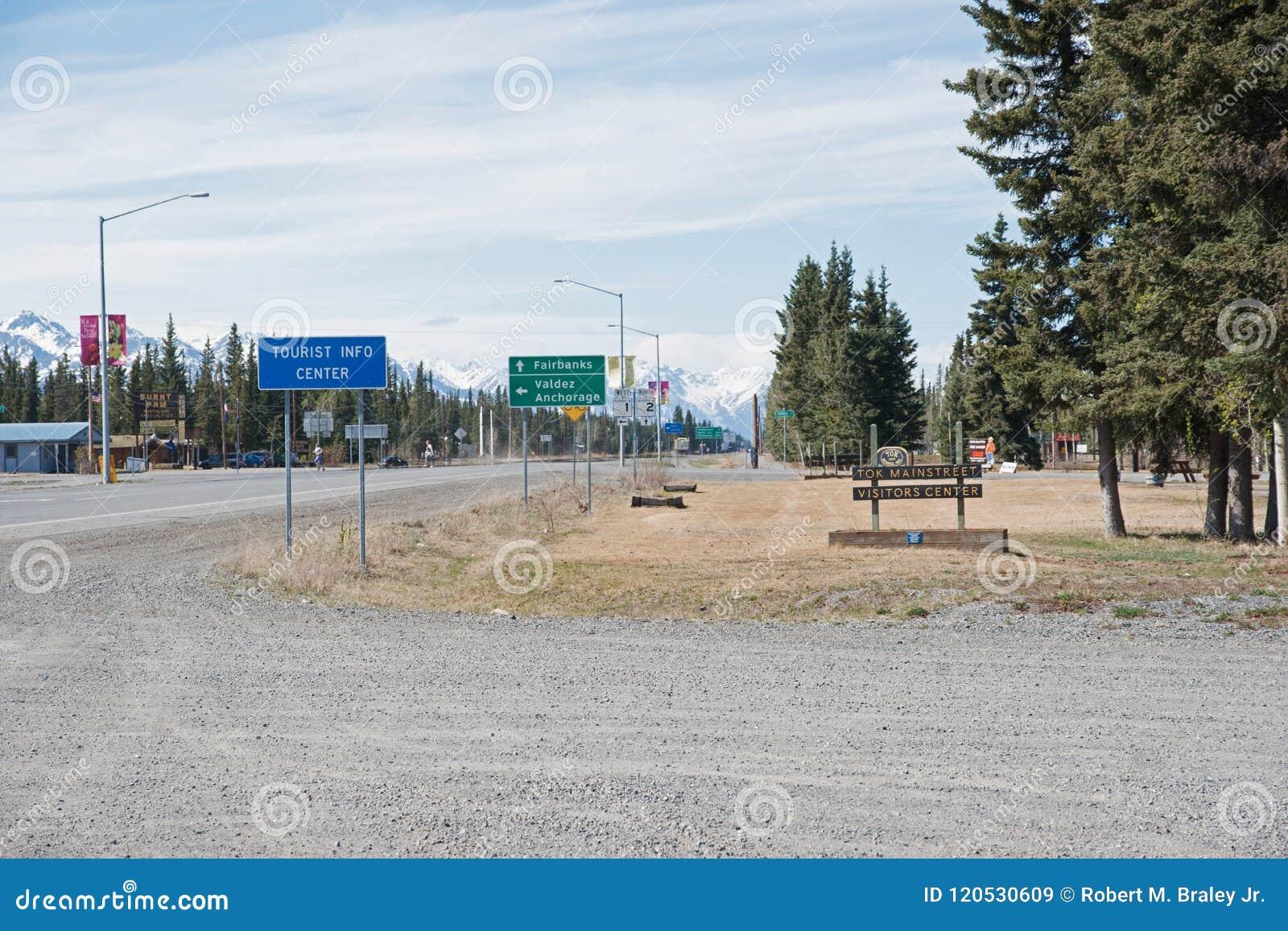 Tok Alaska Highway