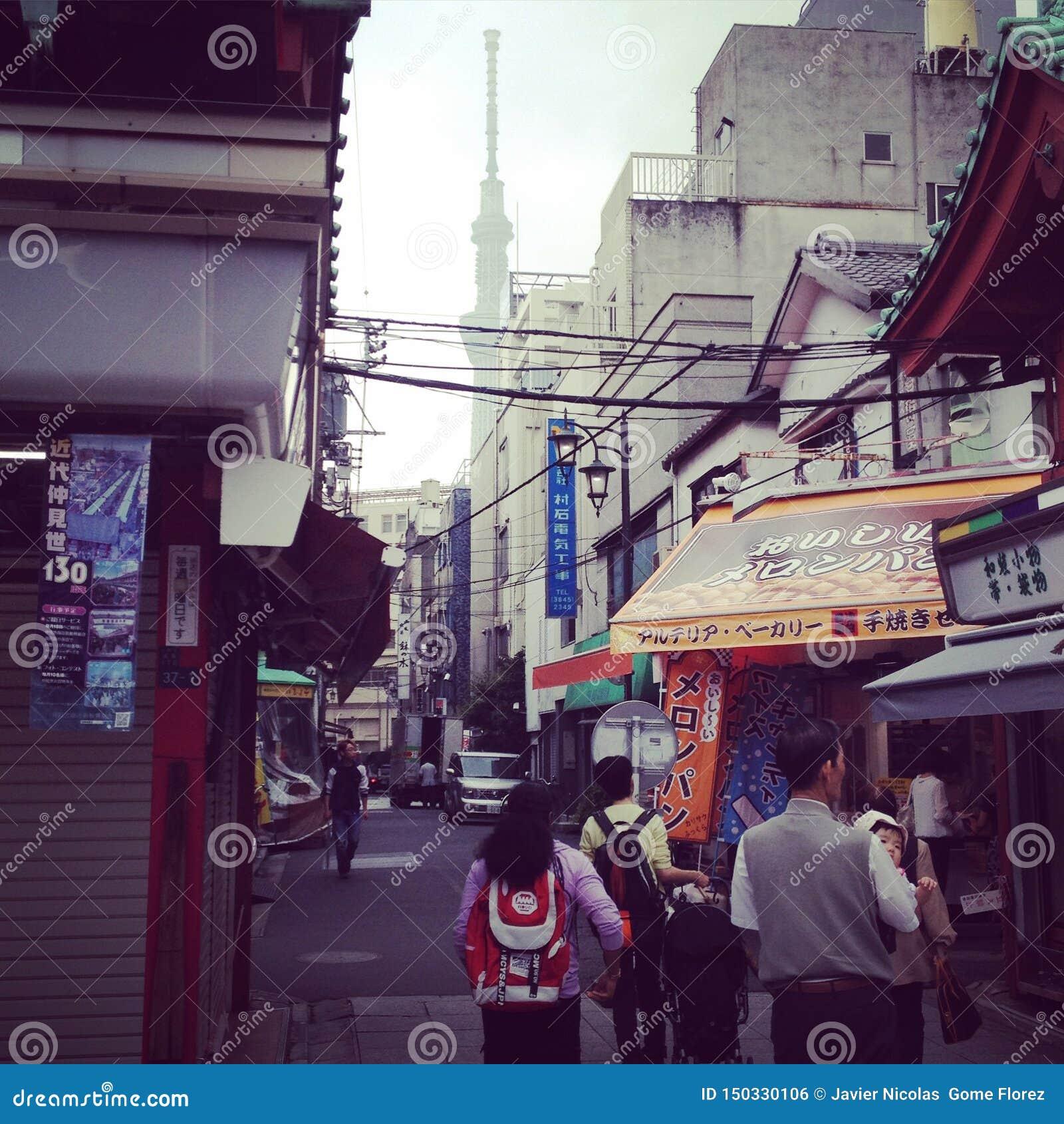 Tokio y skytree