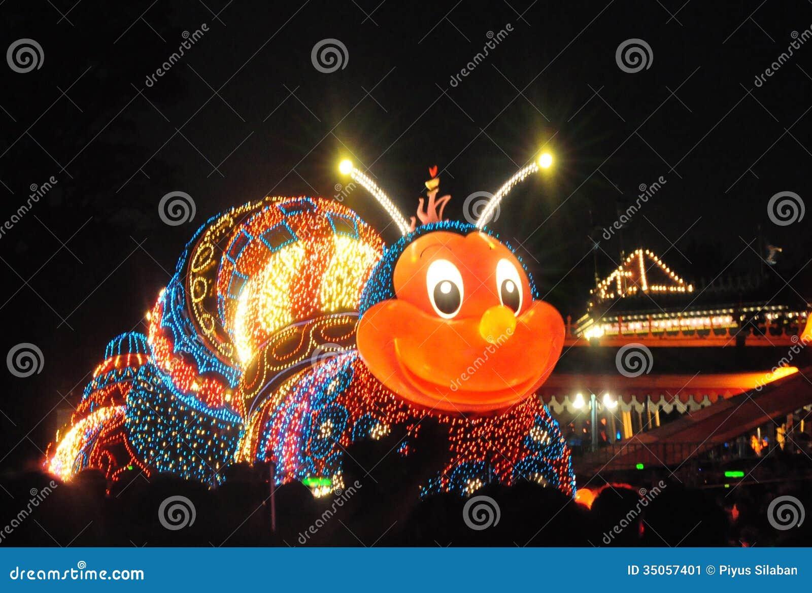 Tokyo Disney Land Electrical Parade Editorial Photo