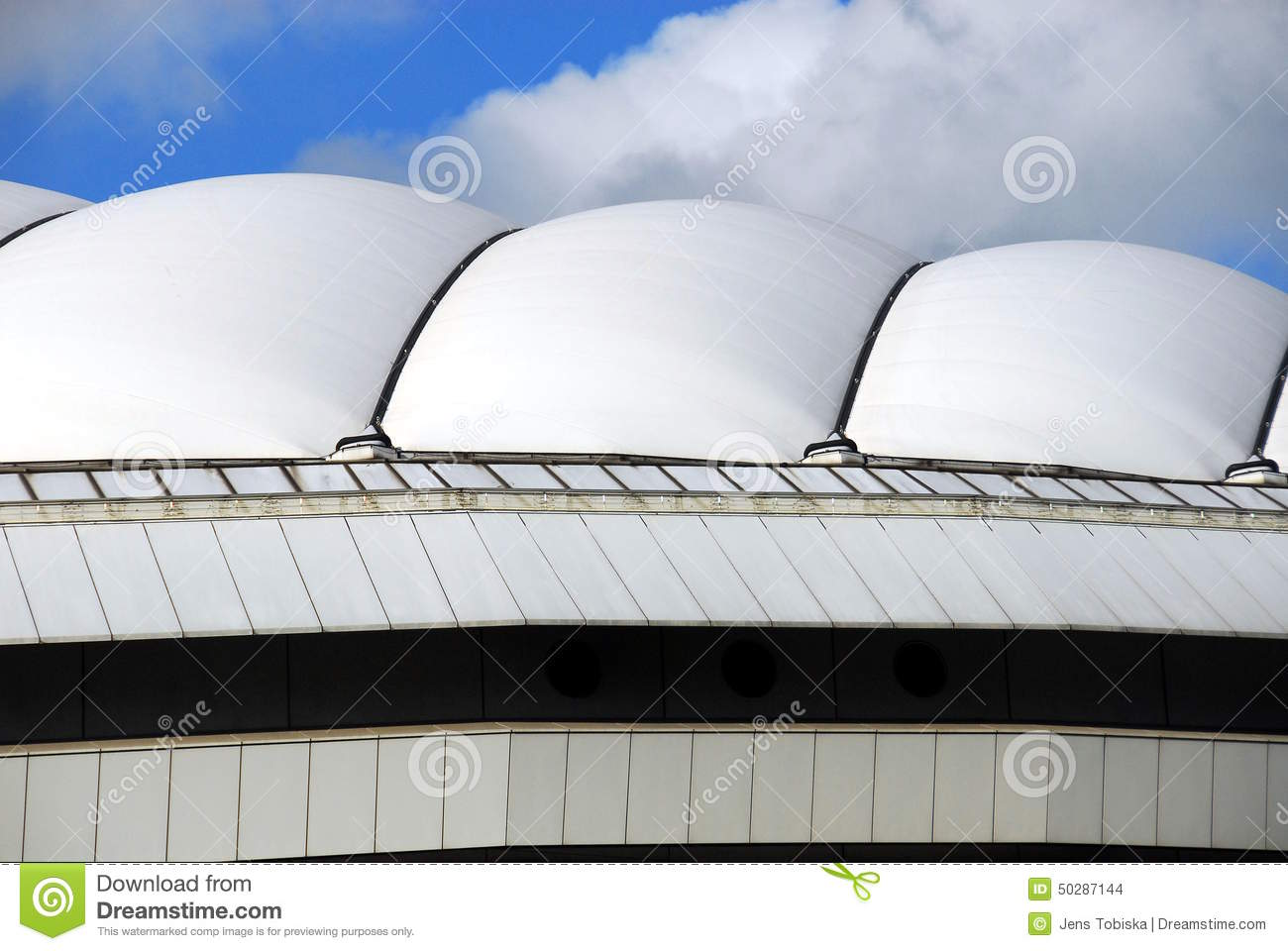 Tokyo dome stock photo image of up dome garden high for Japan dome house price