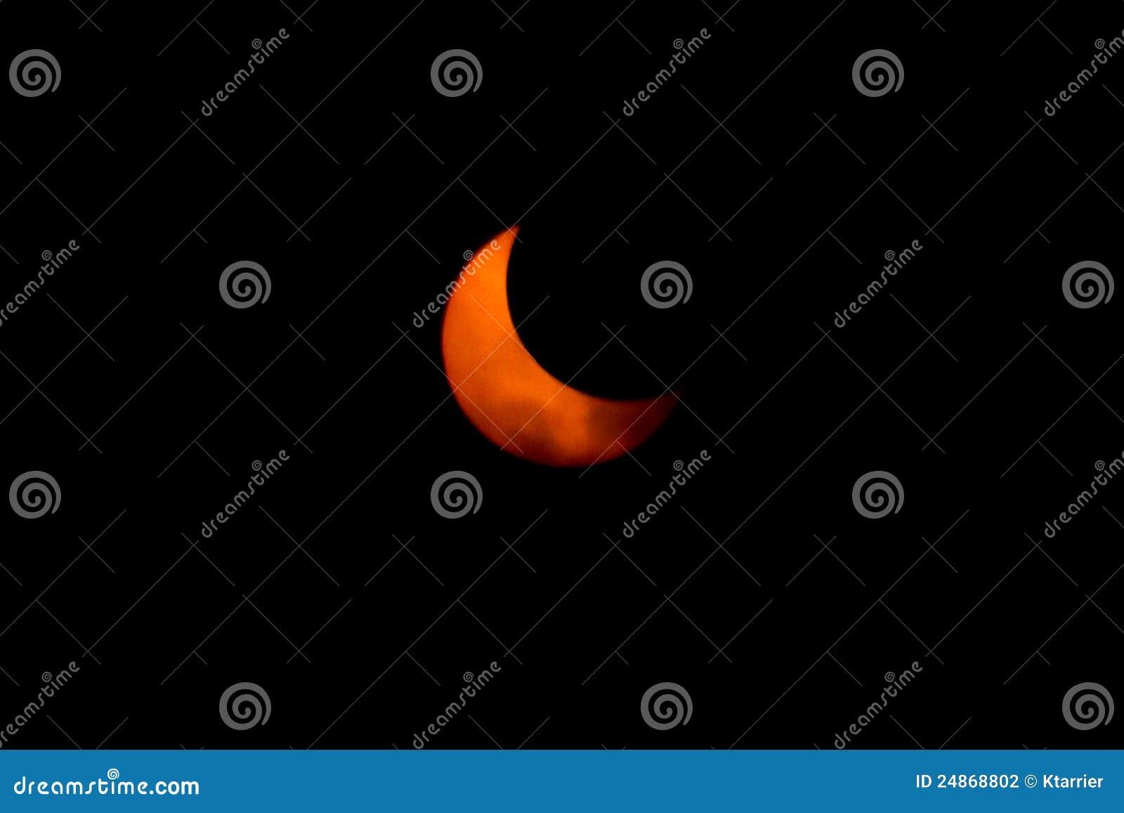 Tokyo, Giappone - 21 maggio: Eclipse anulare