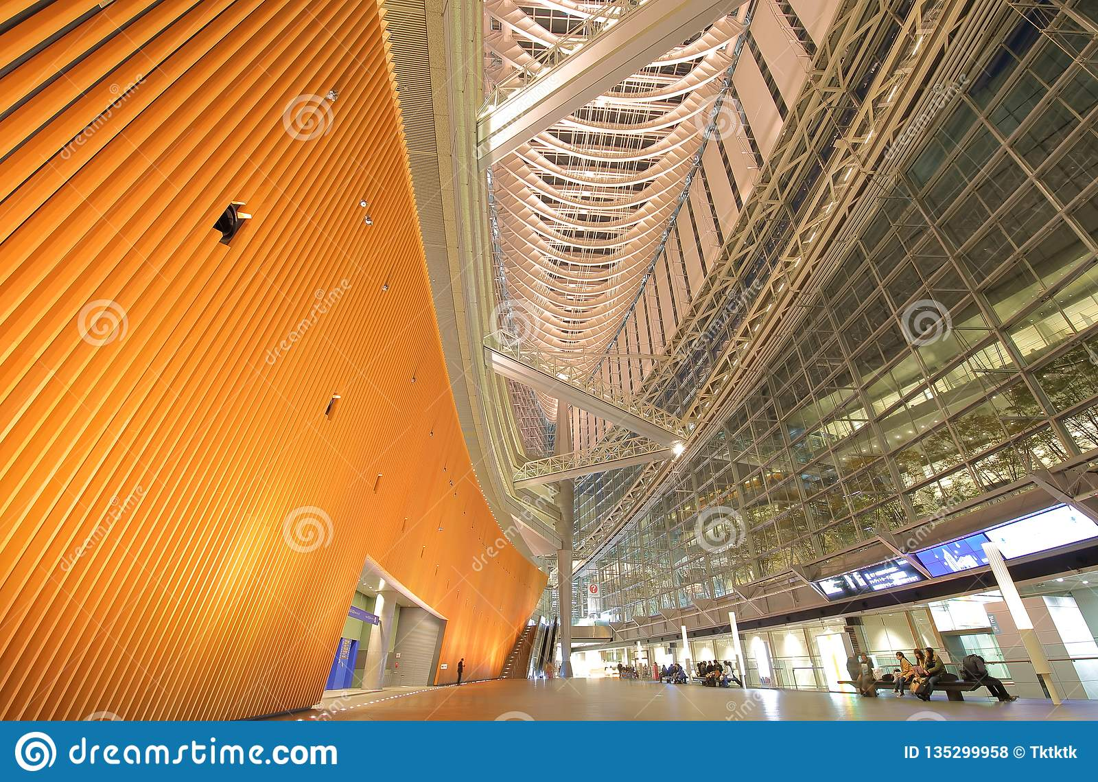 Tokyo international forum modern architecture building Japan
