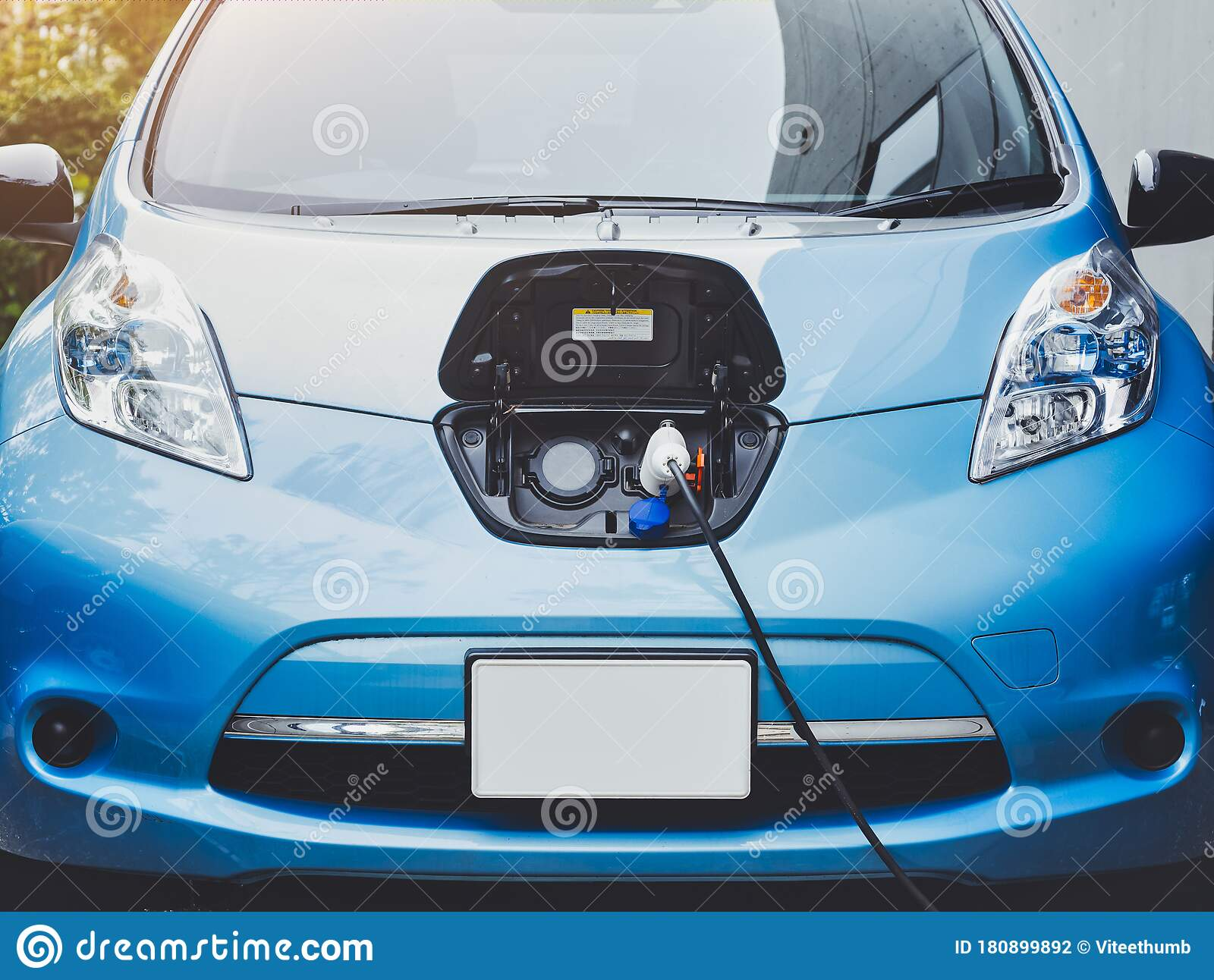 Electric Car Ev Car Power Charge Station With Fuel Charger Cable Clean Power Technology Editorial Photography Image Of Alternative Savings 180899892
