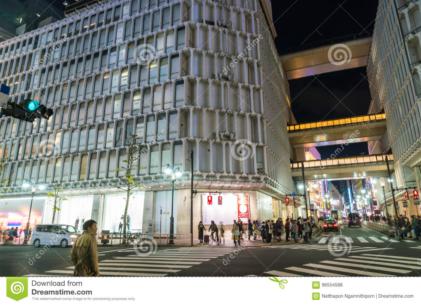 31d074df1 Tokyo, Japan, Nov 17, 2016: Shibuya Crossing Of City street with crowd  people on zebra crosswalk in Shibuya town. Shibuya is a special ward  located in Tokyo ...