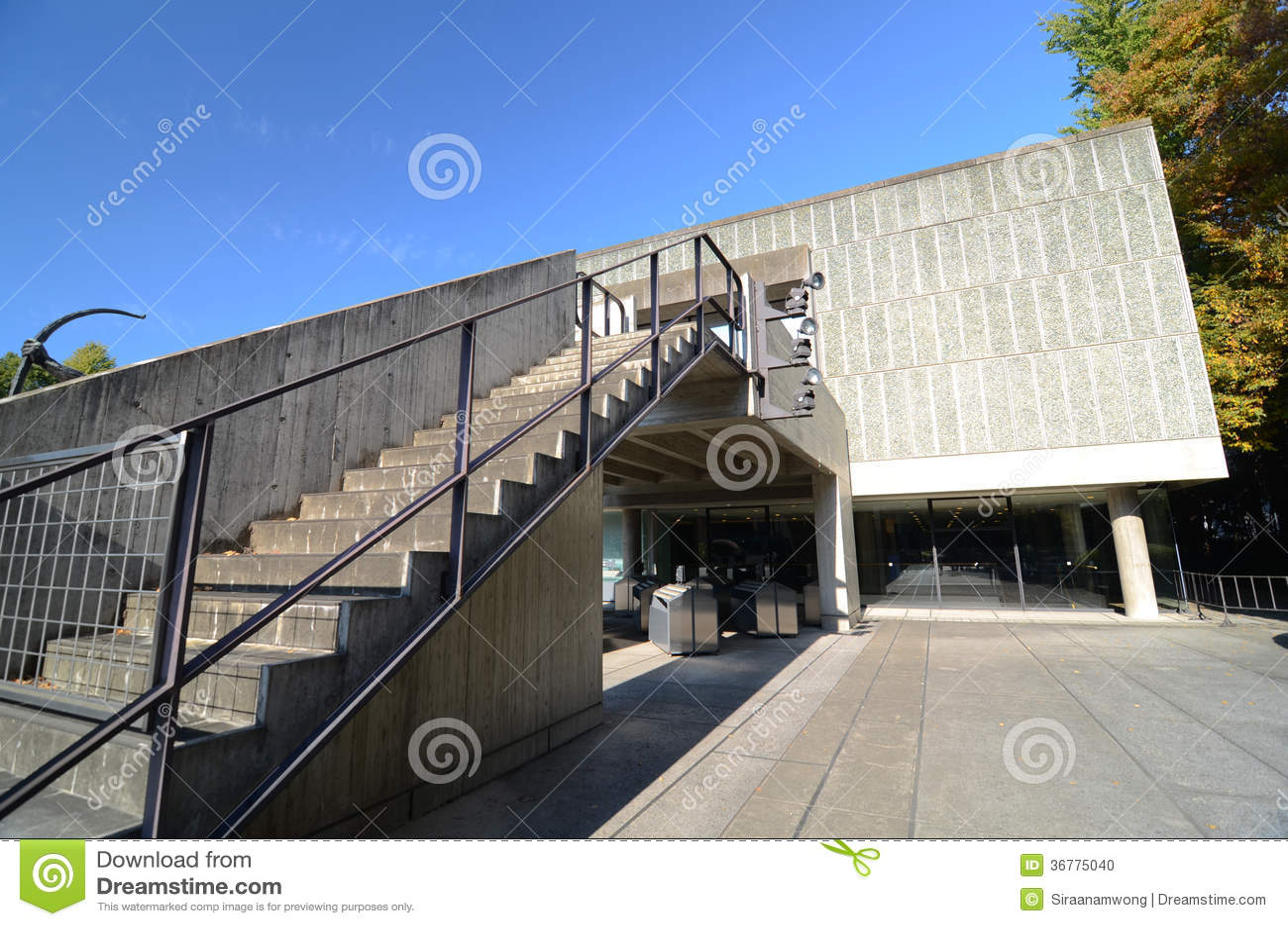 TOKYO, JAPAN - NOVEMBER 22: The National Museum Of Western ...