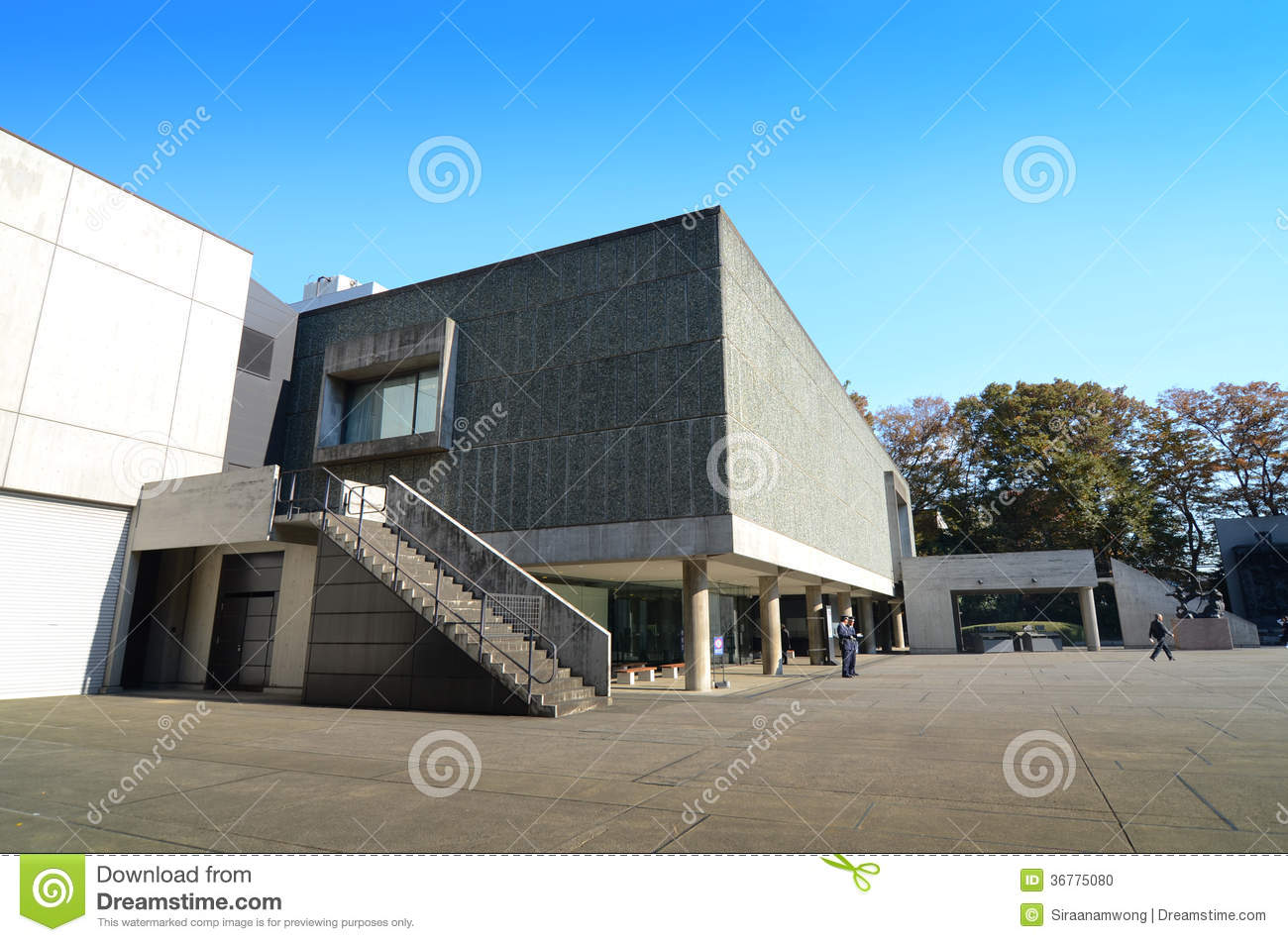 TOKYO, JAPAN - NOVEMBER 22: The National Museum Of Western ...