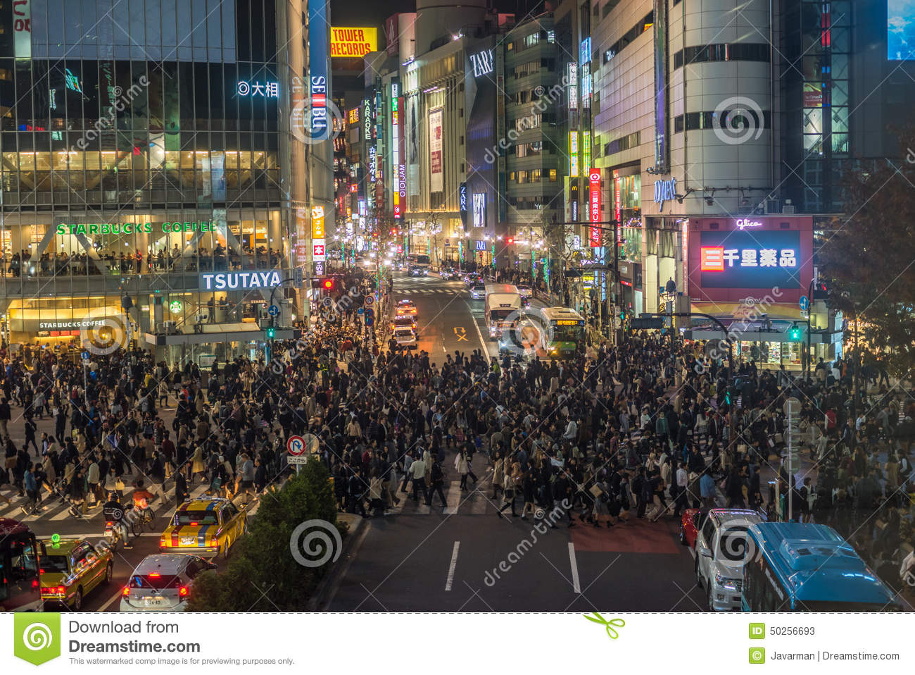 Busiest Street Crossing In The World