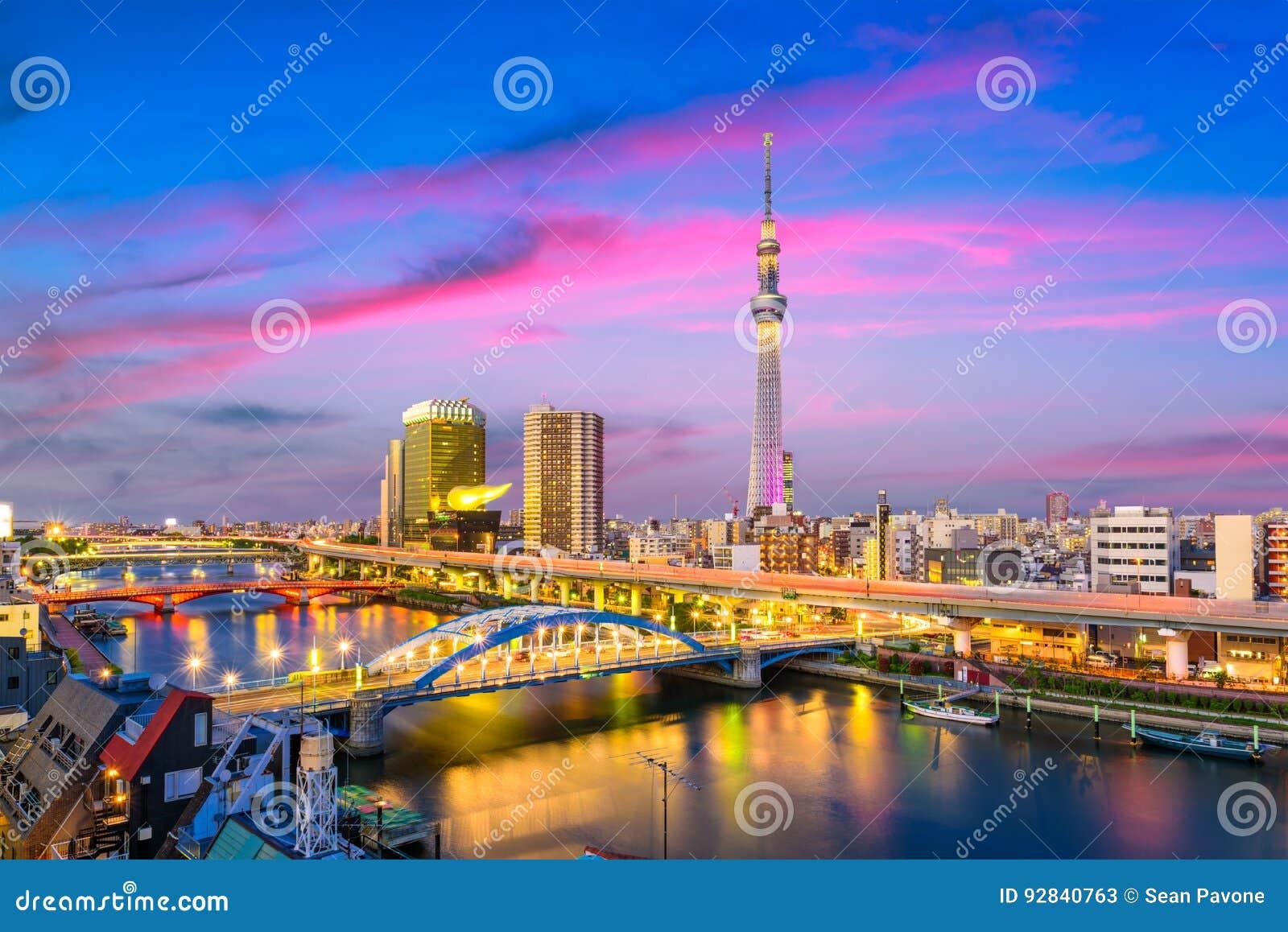 Tokyo, Japan Sumida Skyline