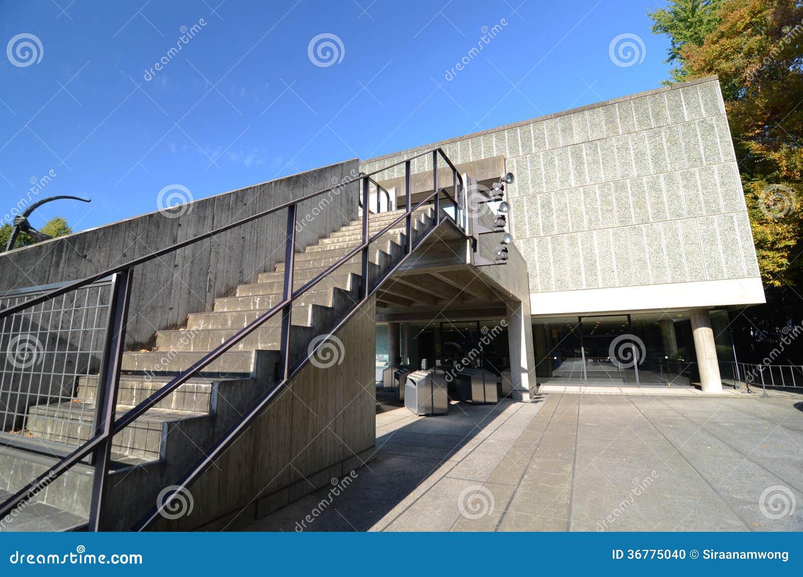 TOKYO, JAPON - 22 NOVEMBRE : Le Musée National de l art occidental,