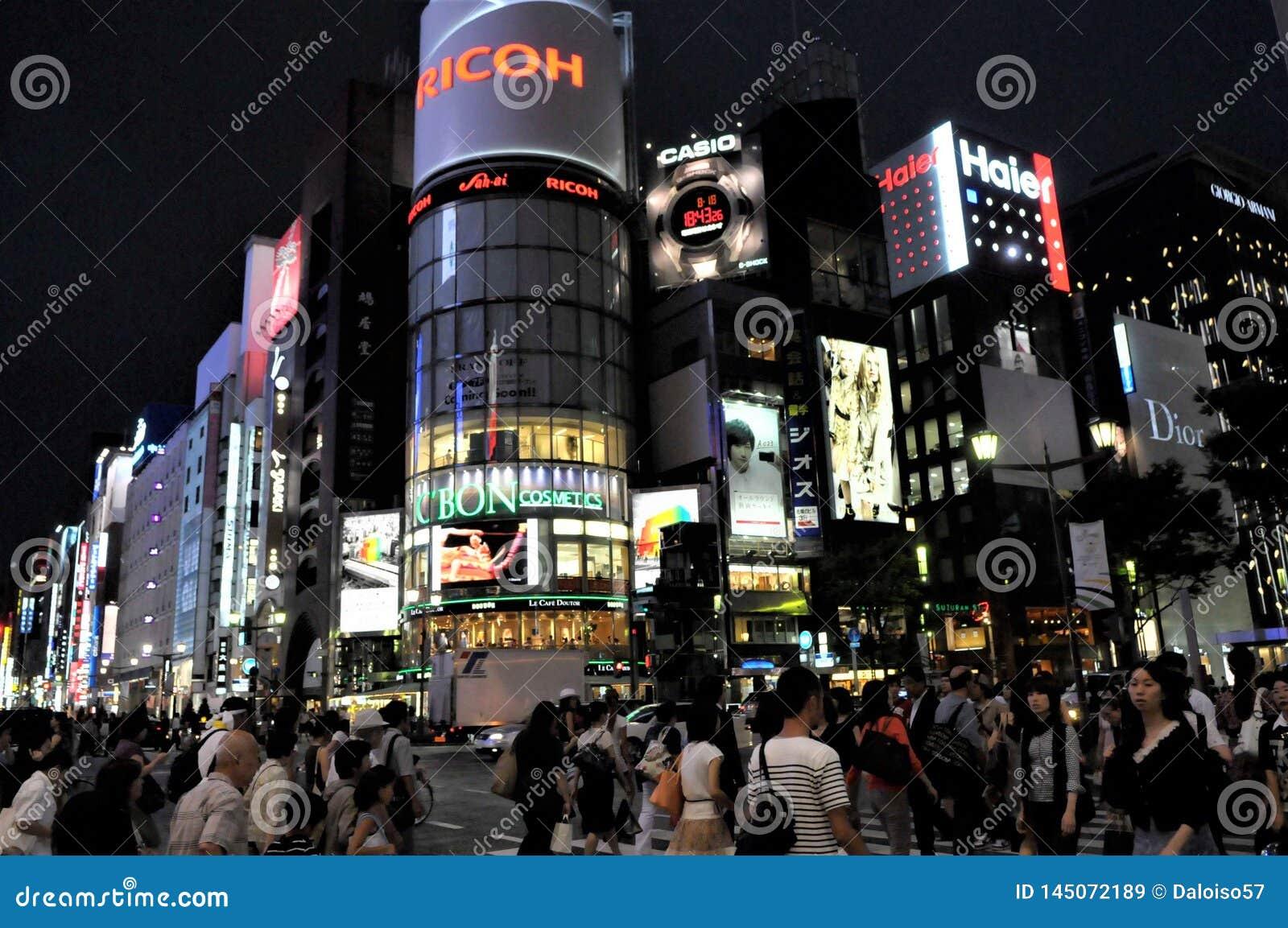 Tokyo na noite