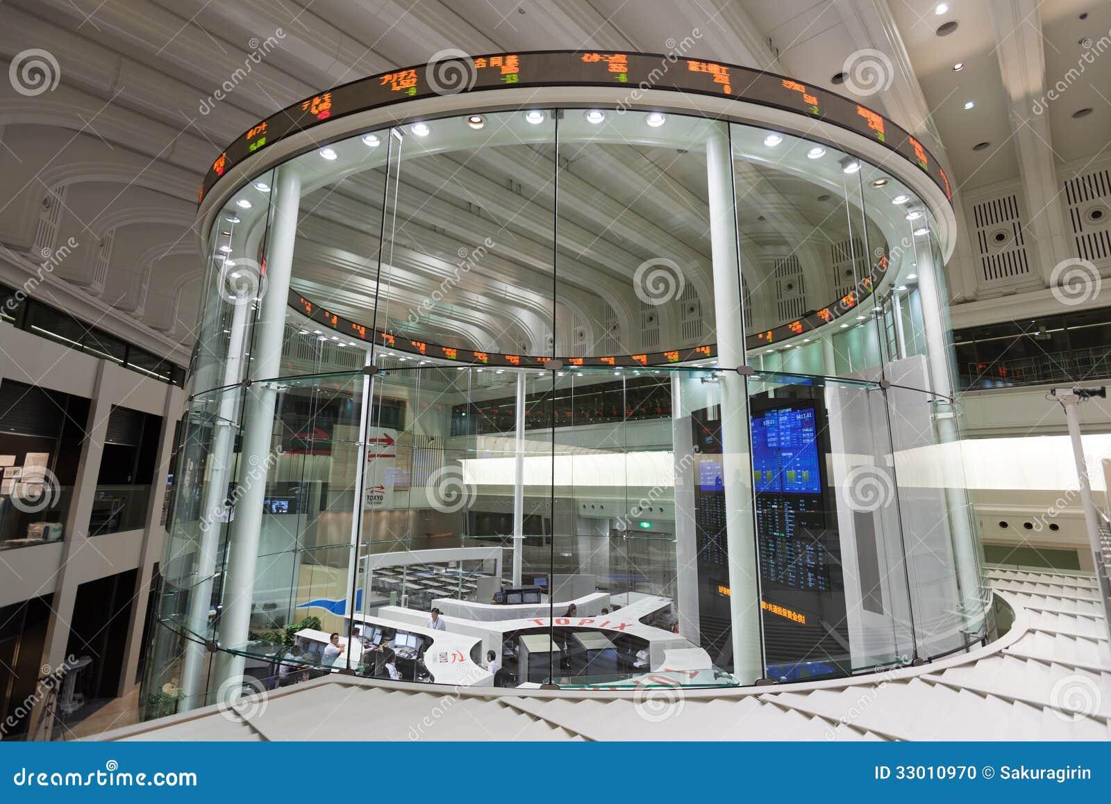 Tokyo stock exchange in tokyo japan editorial image for Floor operator