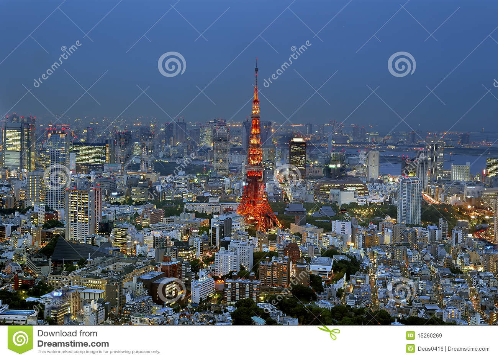 Tokyo torn