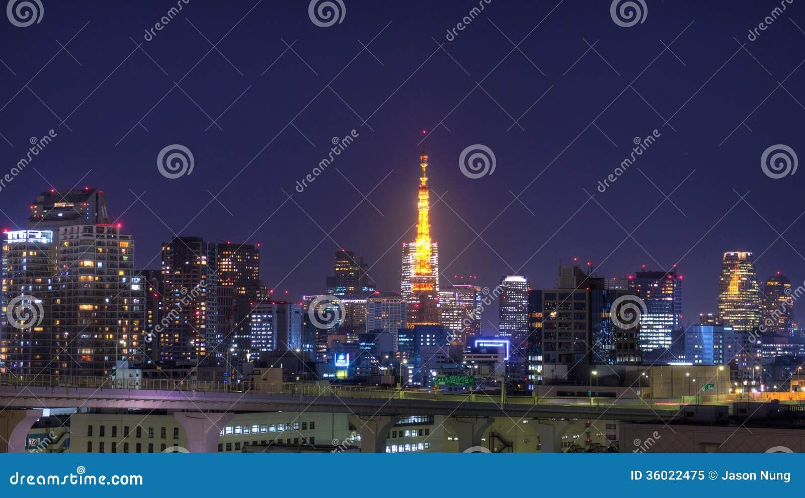 Tokyo Tower Royalty Free Stock Photo - Image: 36022475