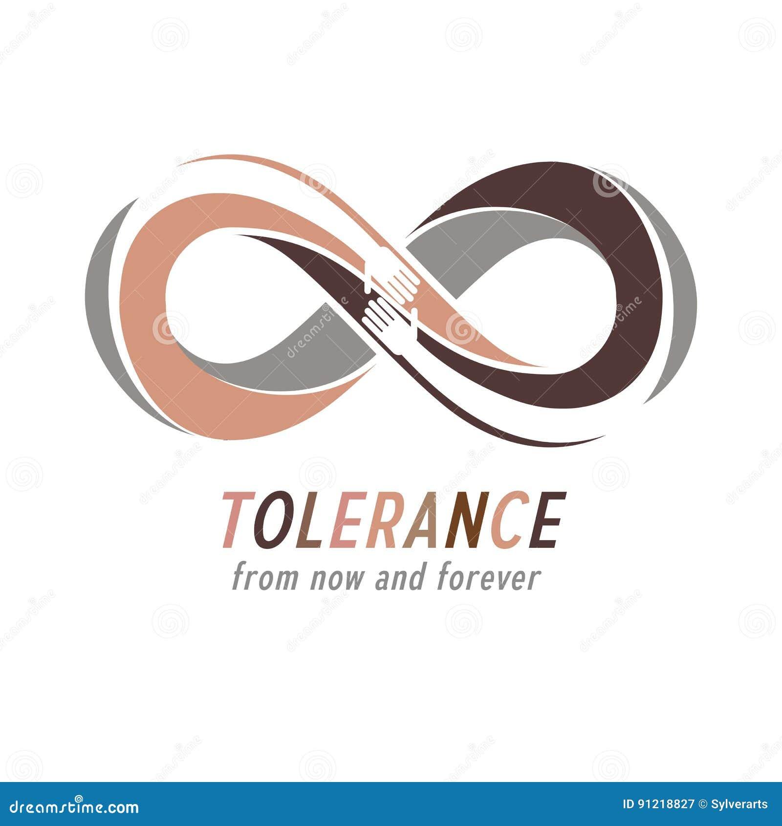 Tolérance raciale entre le symbole conceptuel de différentes nations, mA