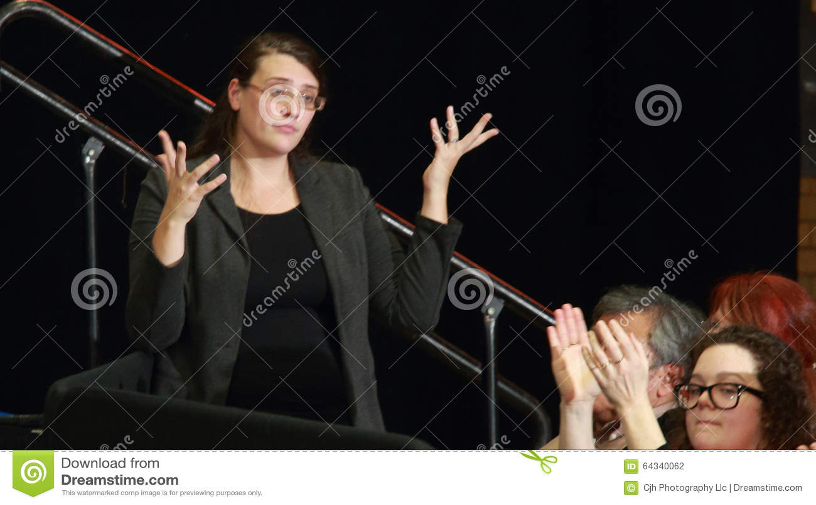 Tolkare för teckenspråk