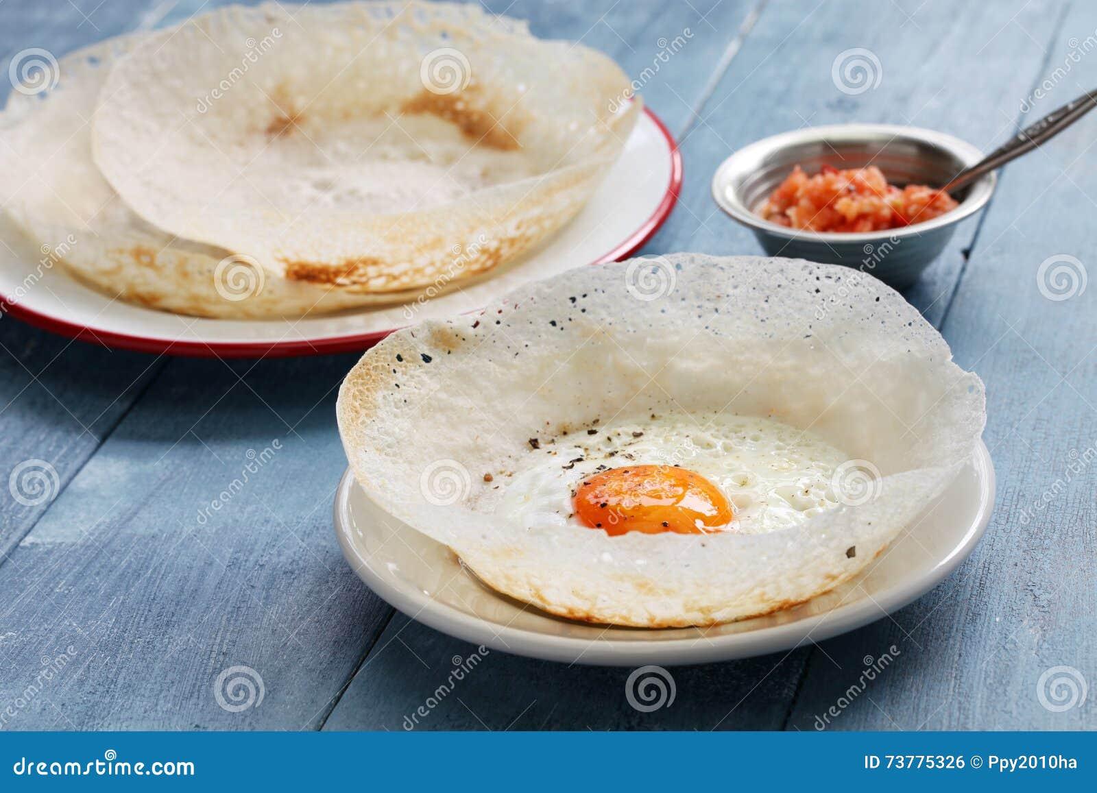 Tolva srilanquesa del huevo