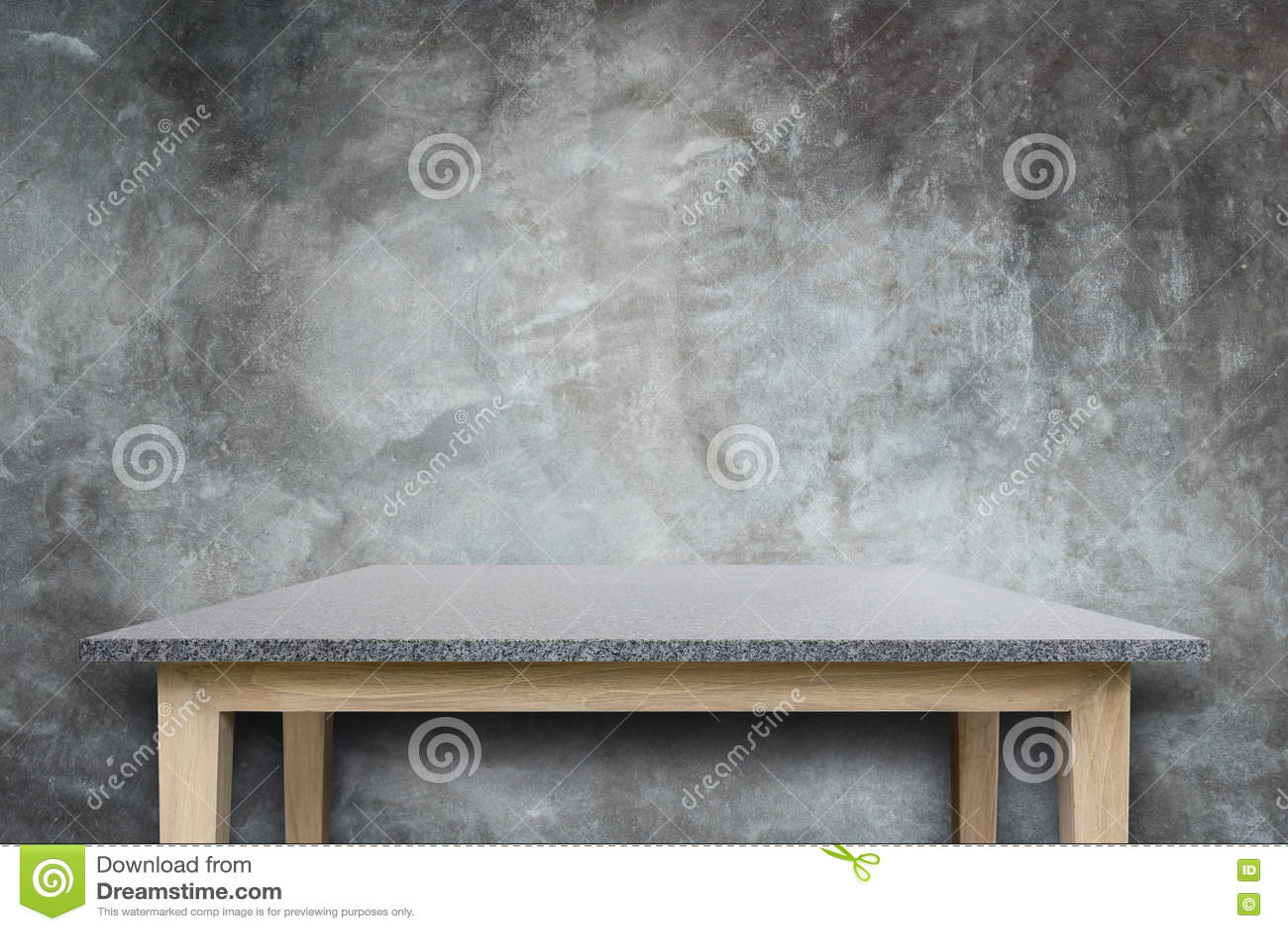 Tom överkant av naturlig bakgrund för stentabell- och stenvägg