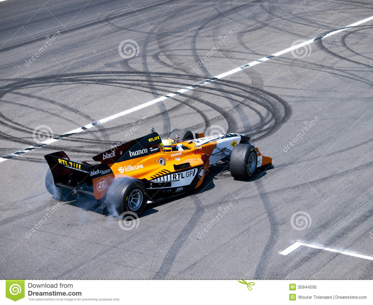 Tom coronel burns some rubber editorial photo for Burns motors used cars
