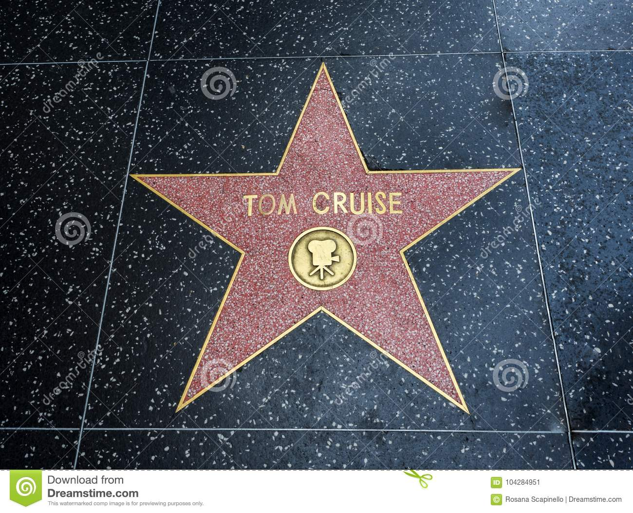 Tom Cruise-` s Stern, Hollywood-Weg des Ruhmes - 11. August 2017 - Hollywood Boulevard, Los Angeles, Kalifornien, CA