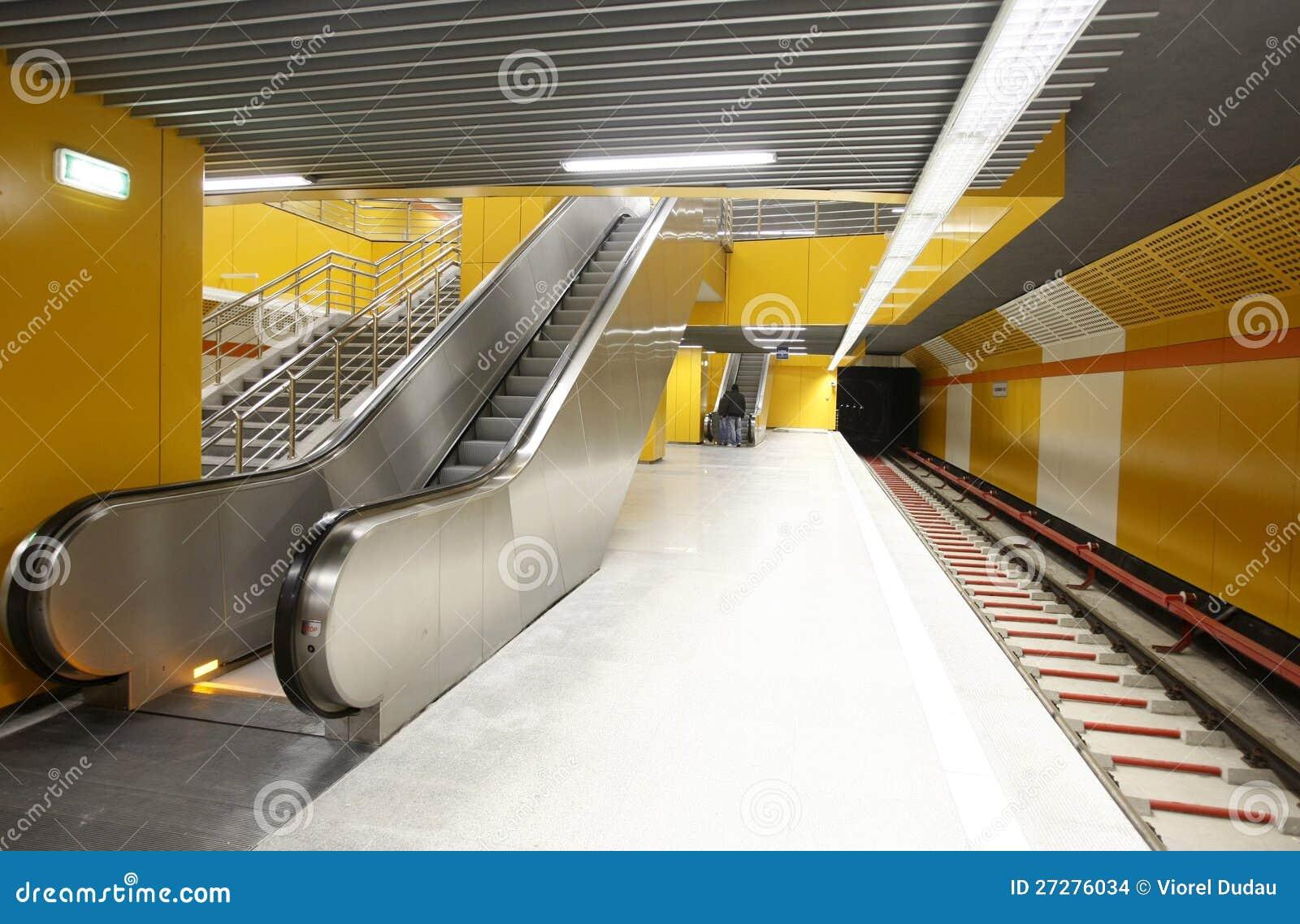 Tom gångtunnelstation