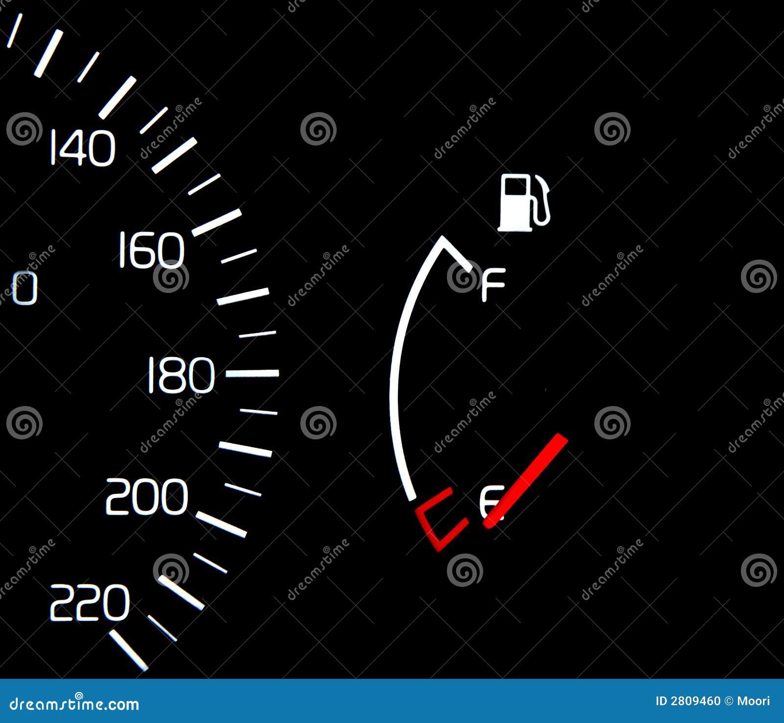 Tom Gauge för bränslebehållare