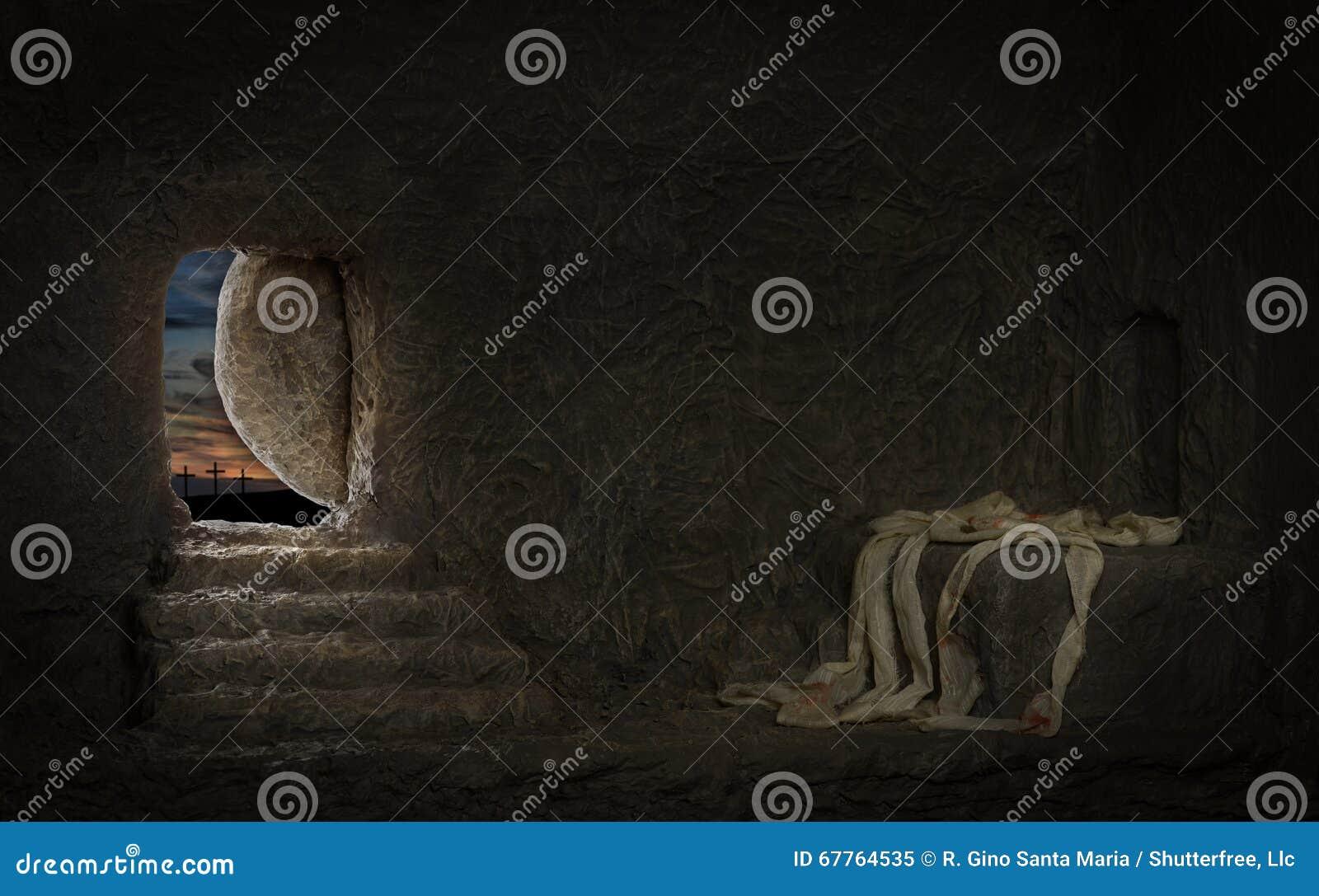 Tom gravvalv av Jesus