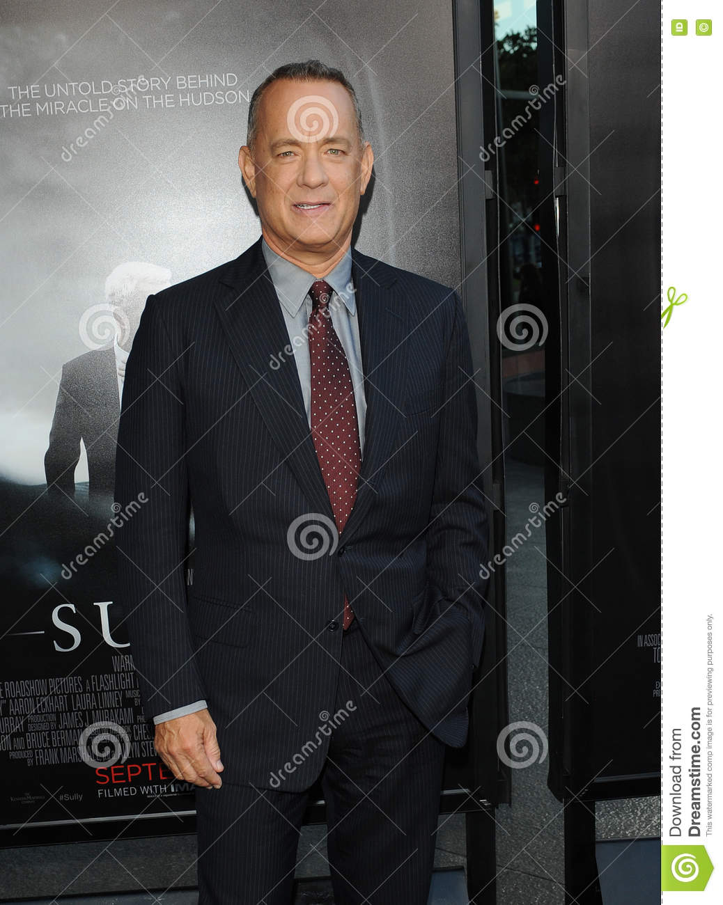 1c13b218656a0 Tom Hanks at the Los Angeles screening of  Sully  held at the DGA Theater  in Hollywood