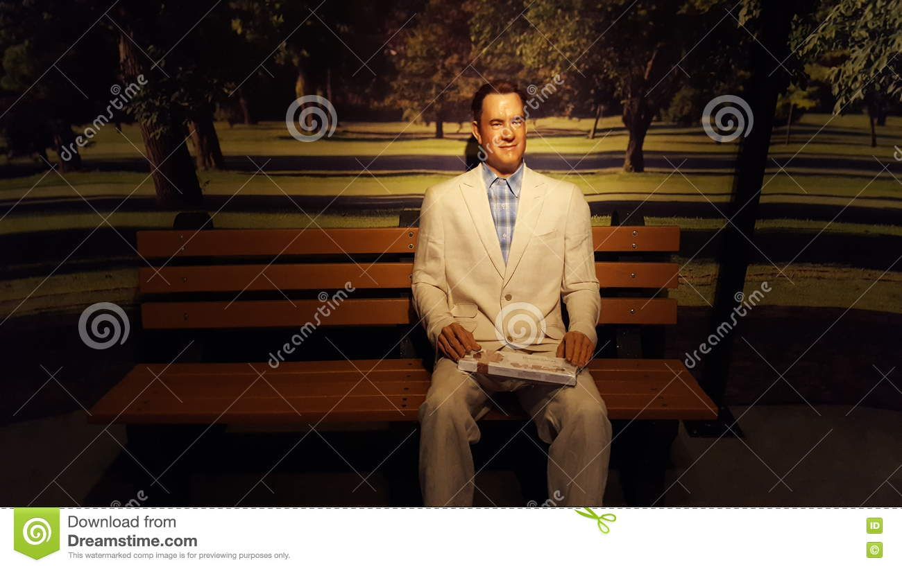 Tom Hanks Wax Statue Editorial Photography Image Of Forest 74143017