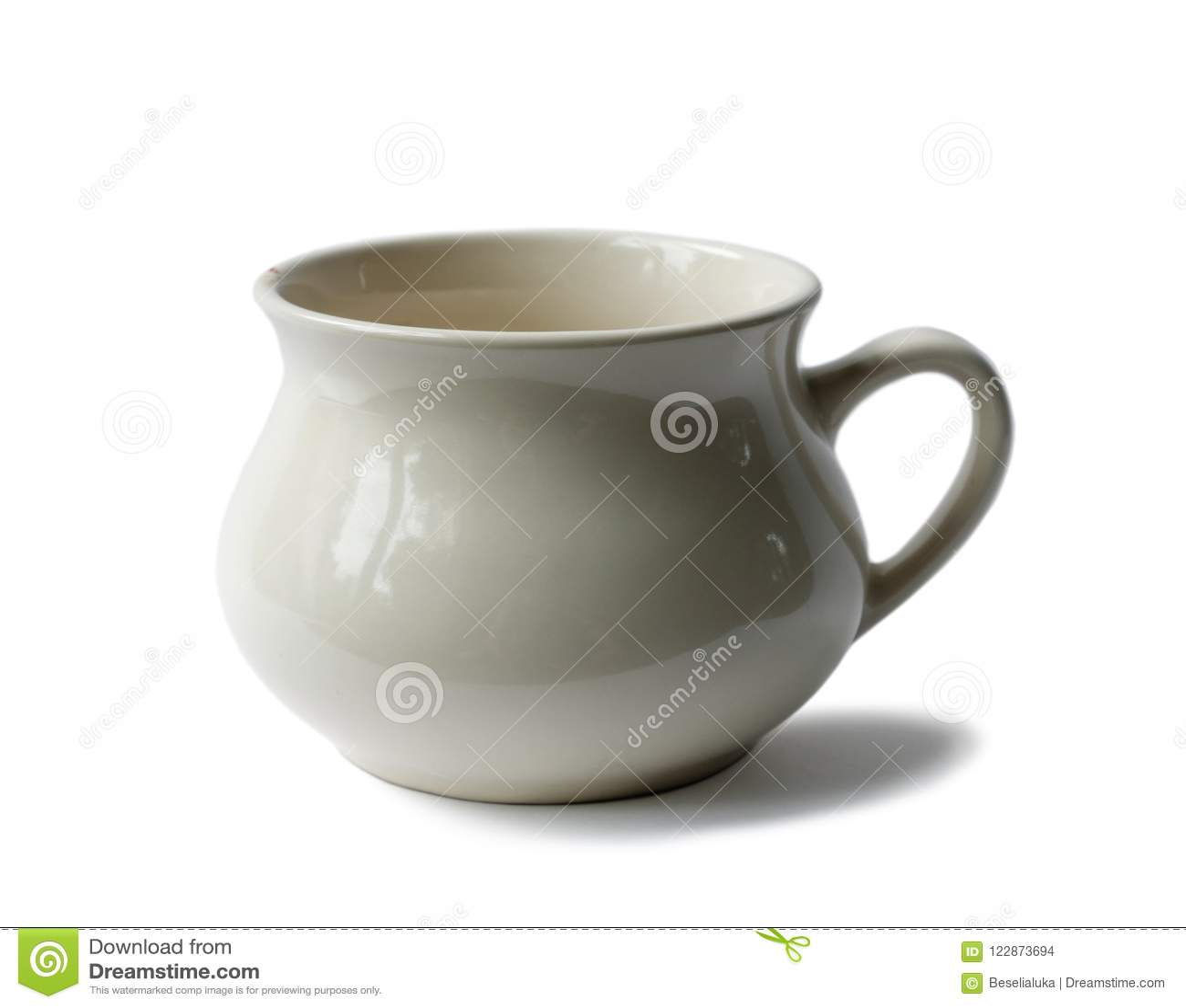 Tom kopp för gammalt porslin