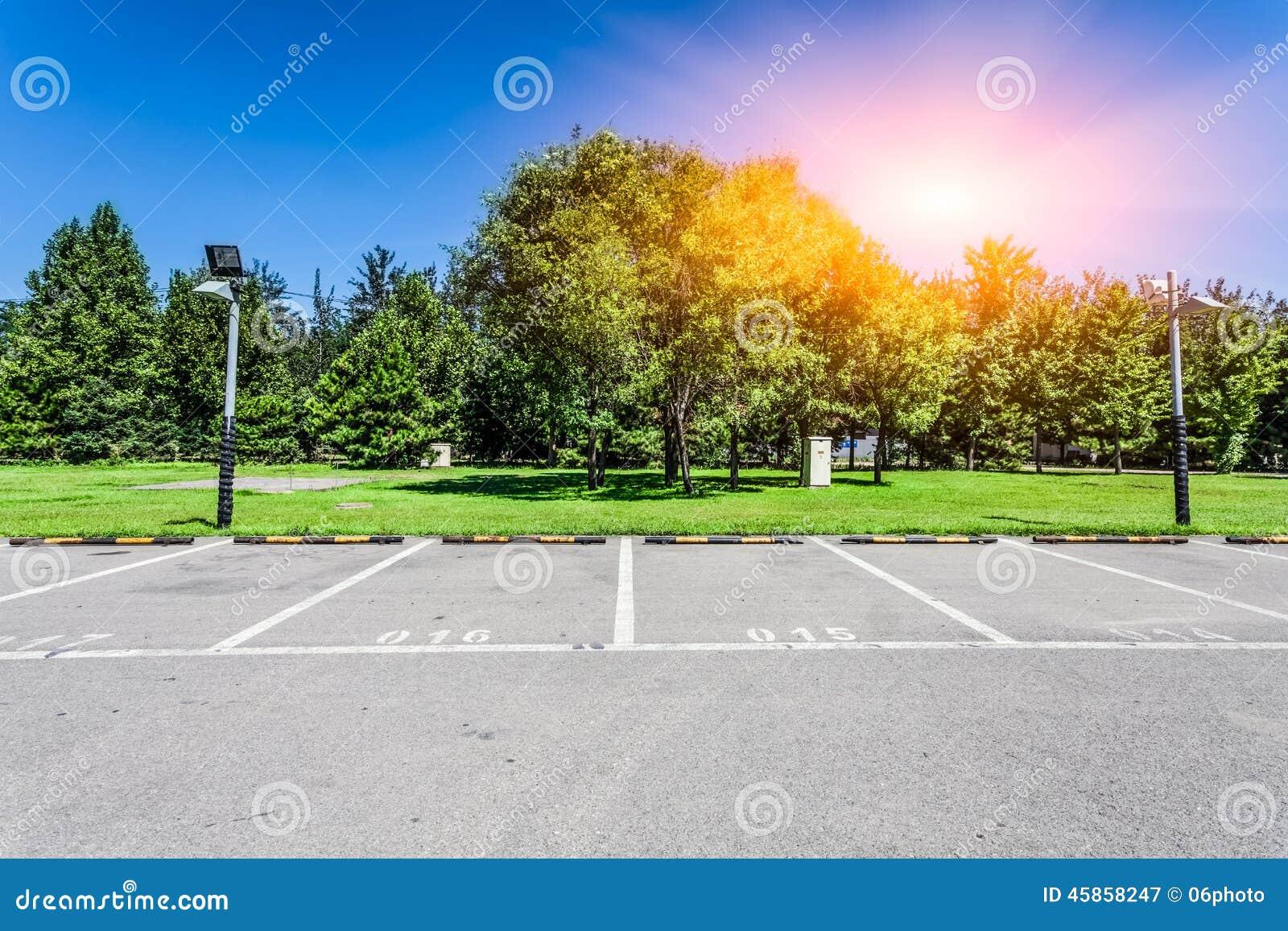 Tom lottparkering