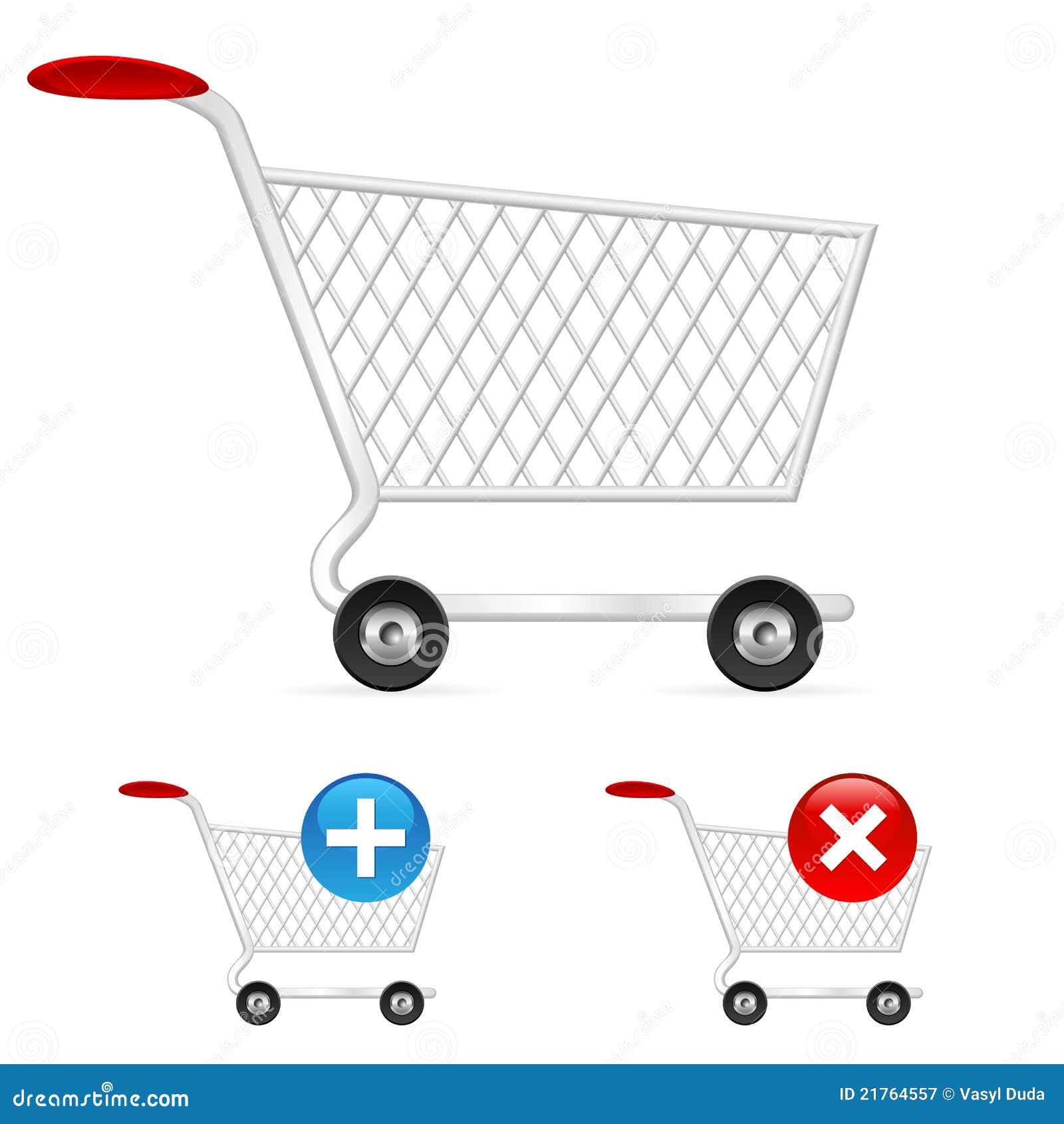 Tom shopping för vagn