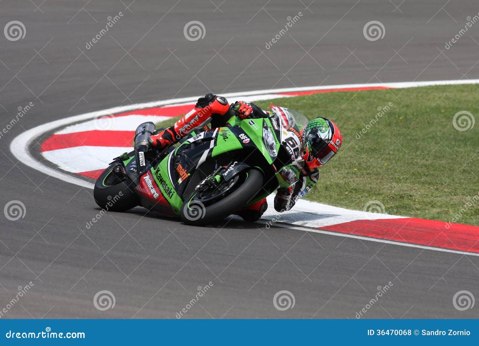 Tom Sykes #66 on Kawasaki ZX-10R Kawasaki Racing Team Superbike WSBK