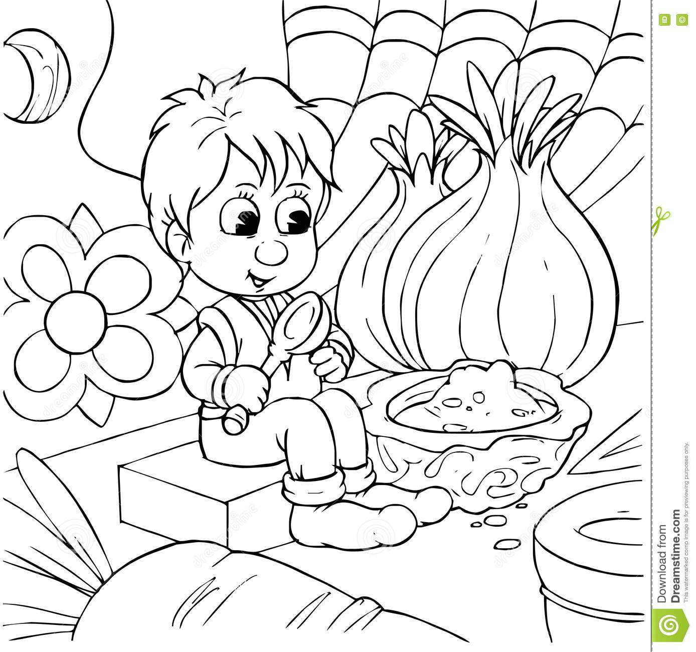 tom thumb coloring pages - photo#18