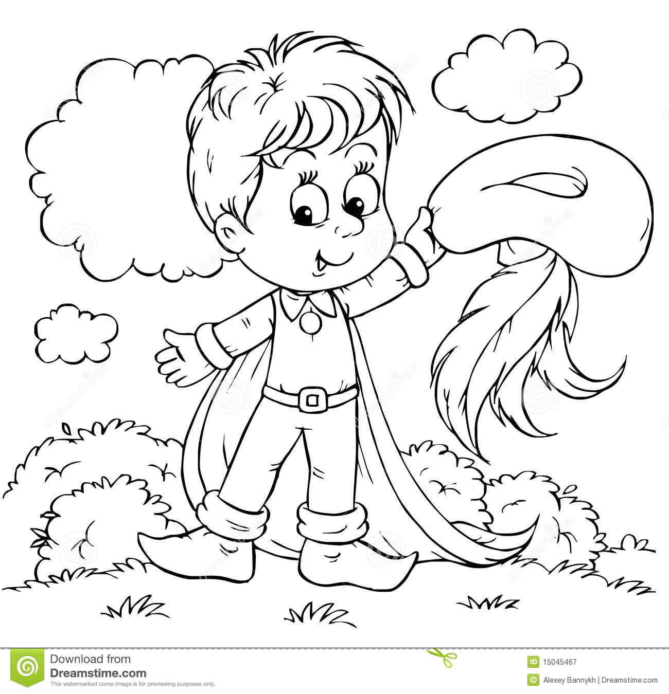 tom thumb coloring pages - photo#9