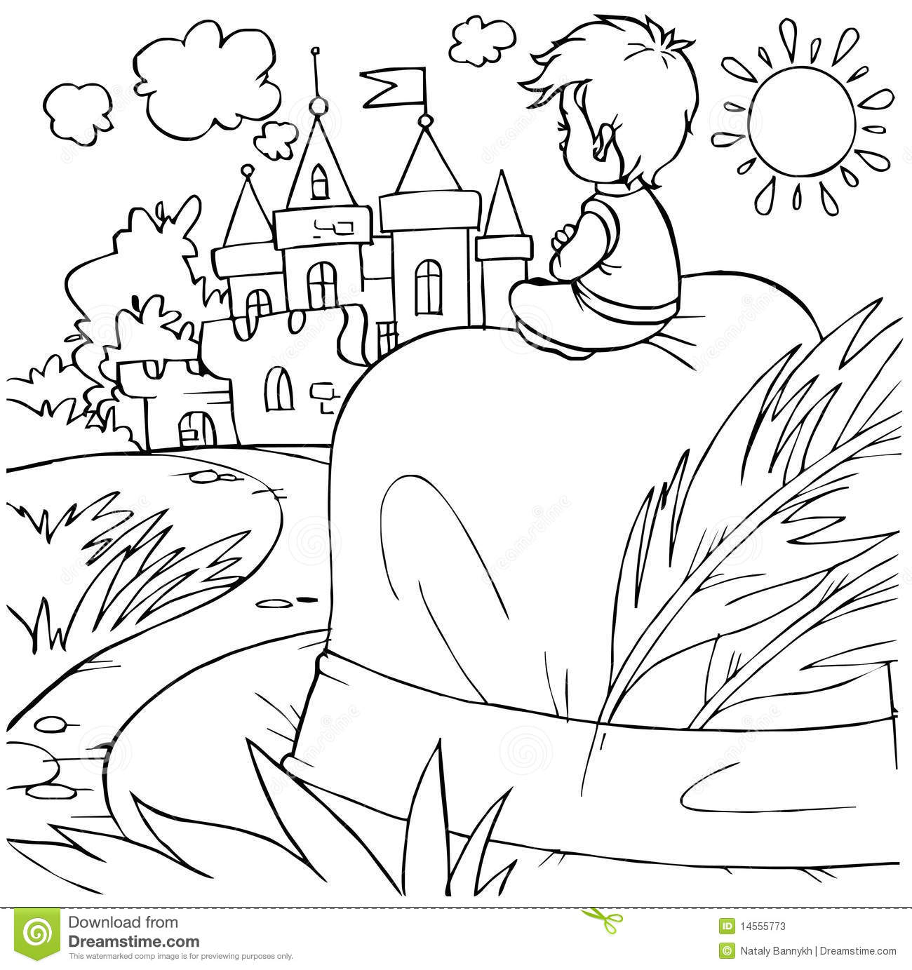 tom thumb coloring pages - photo#12