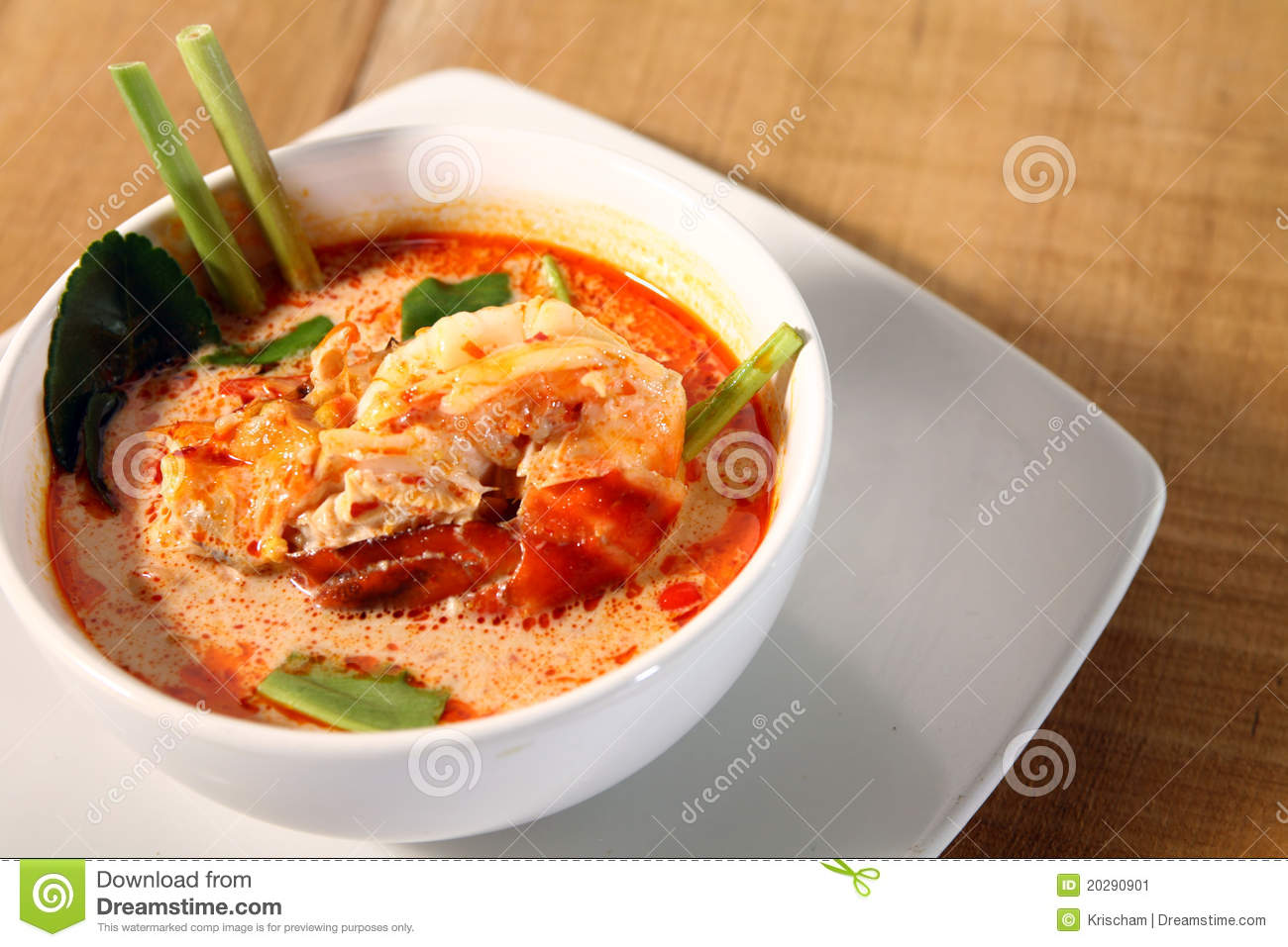 Creamy Tom Yam Kung (Thai Hot And Sour Soup With Shrimp) Recipe ...