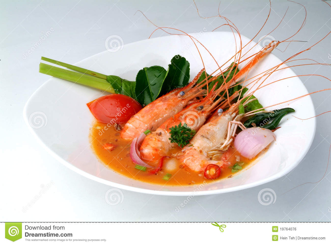 Tom Yam Kung. Spicy Shrimp Soup Royalty Free Stock Image - Image ...