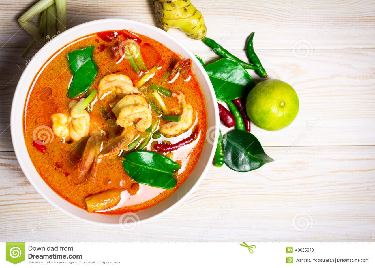 Tom yam kung stock image image of photography sour for 8 spices thai cuisine