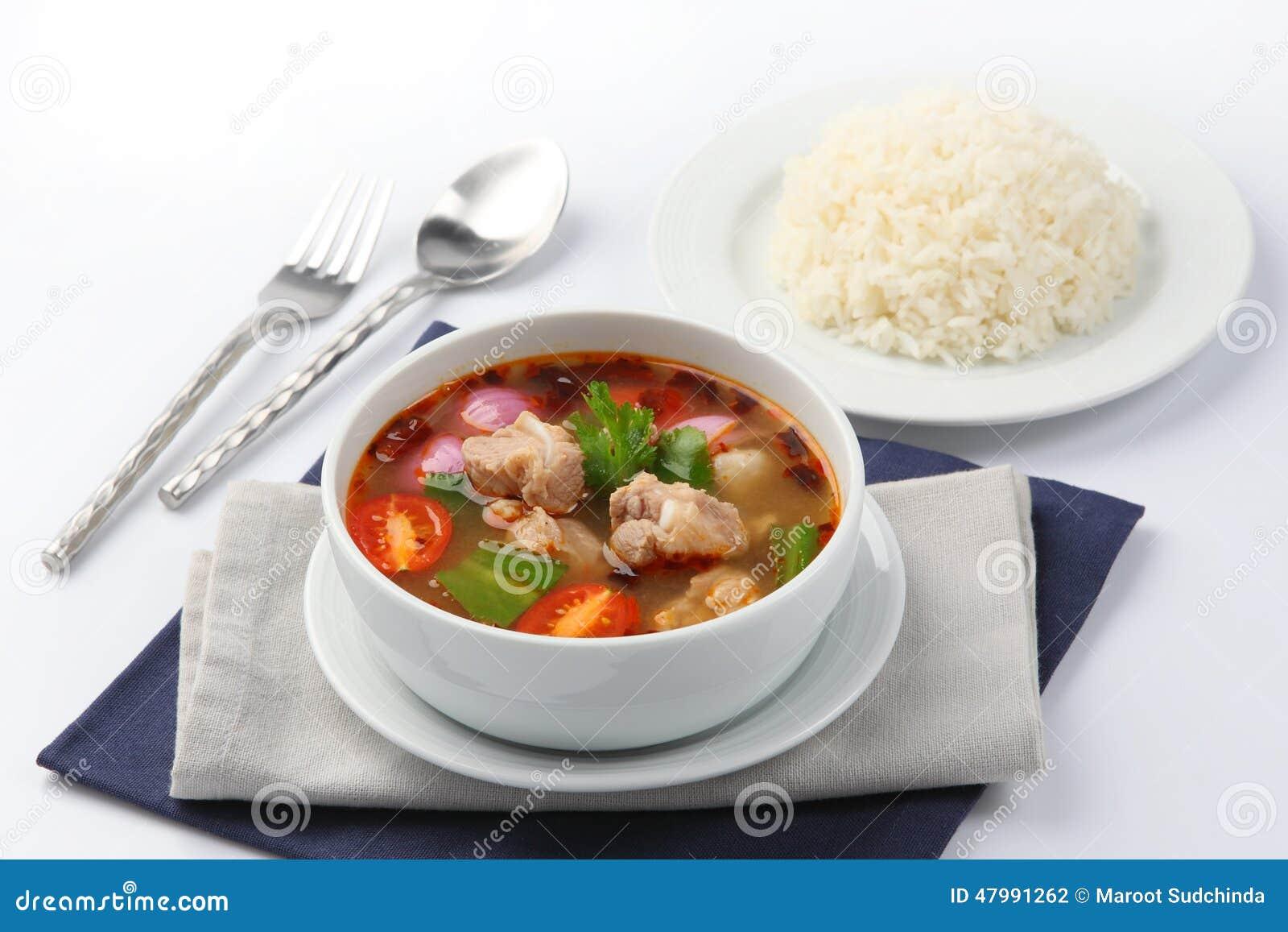 how to make thai tom yum