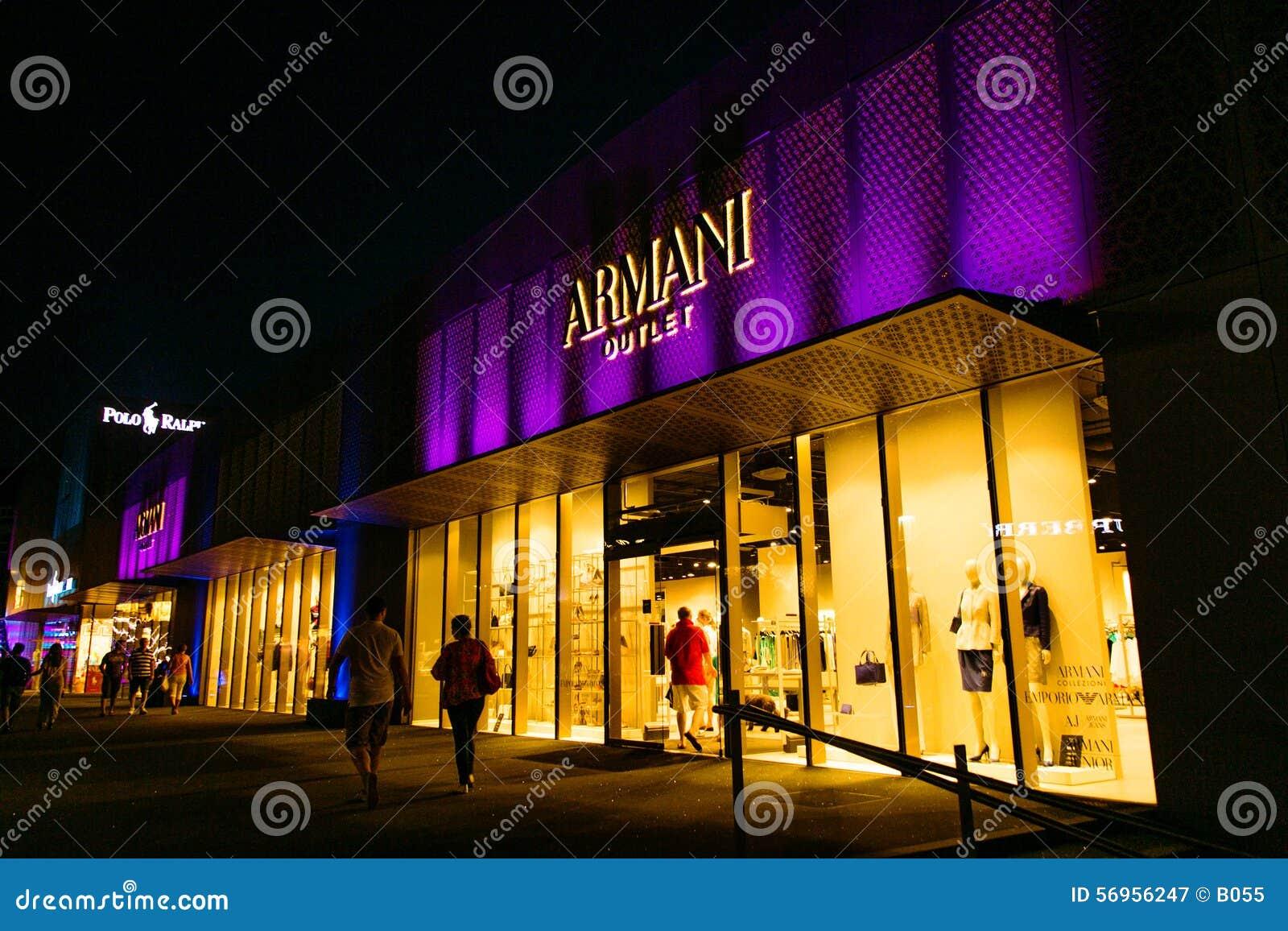 Tomada de Armani