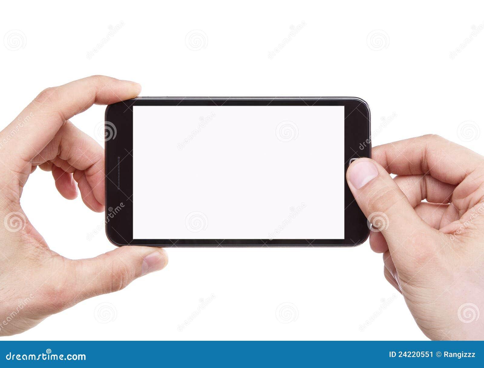 Tomando a foto com telefone móvel