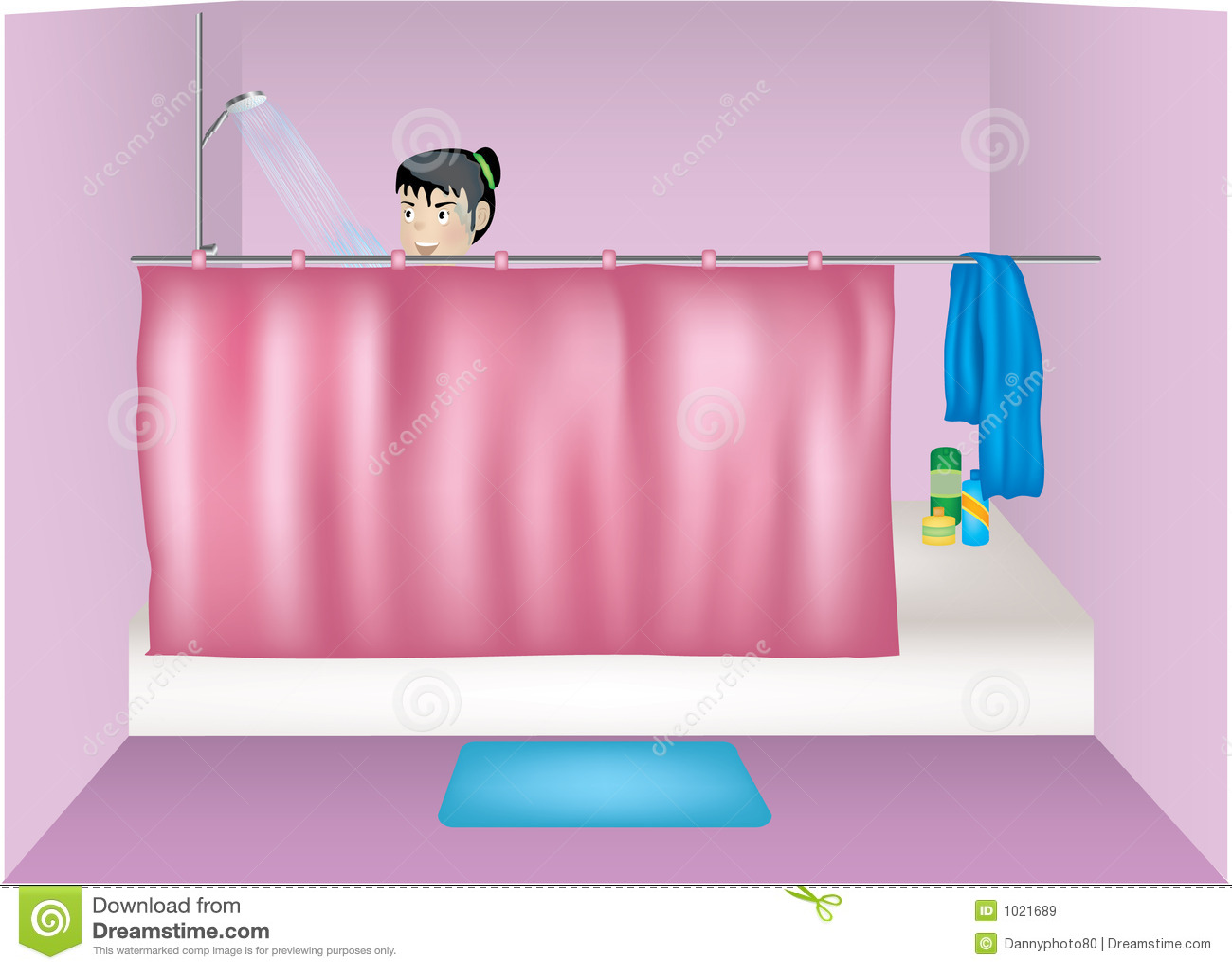 Tomar una ducha im genes de archivo libres de regal as - Hacer una mampara de ducha ...