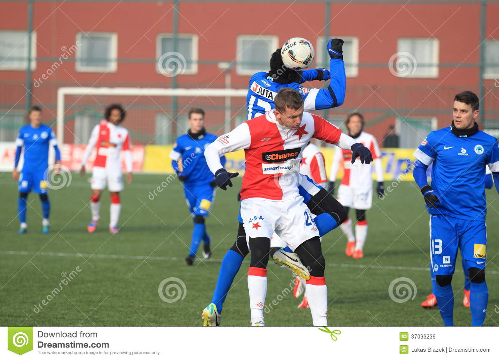 Download Tomas Necid - Slavia Prague Zdjęcie Editorial - Obraz złożonej z prague, soccer: 37093236
