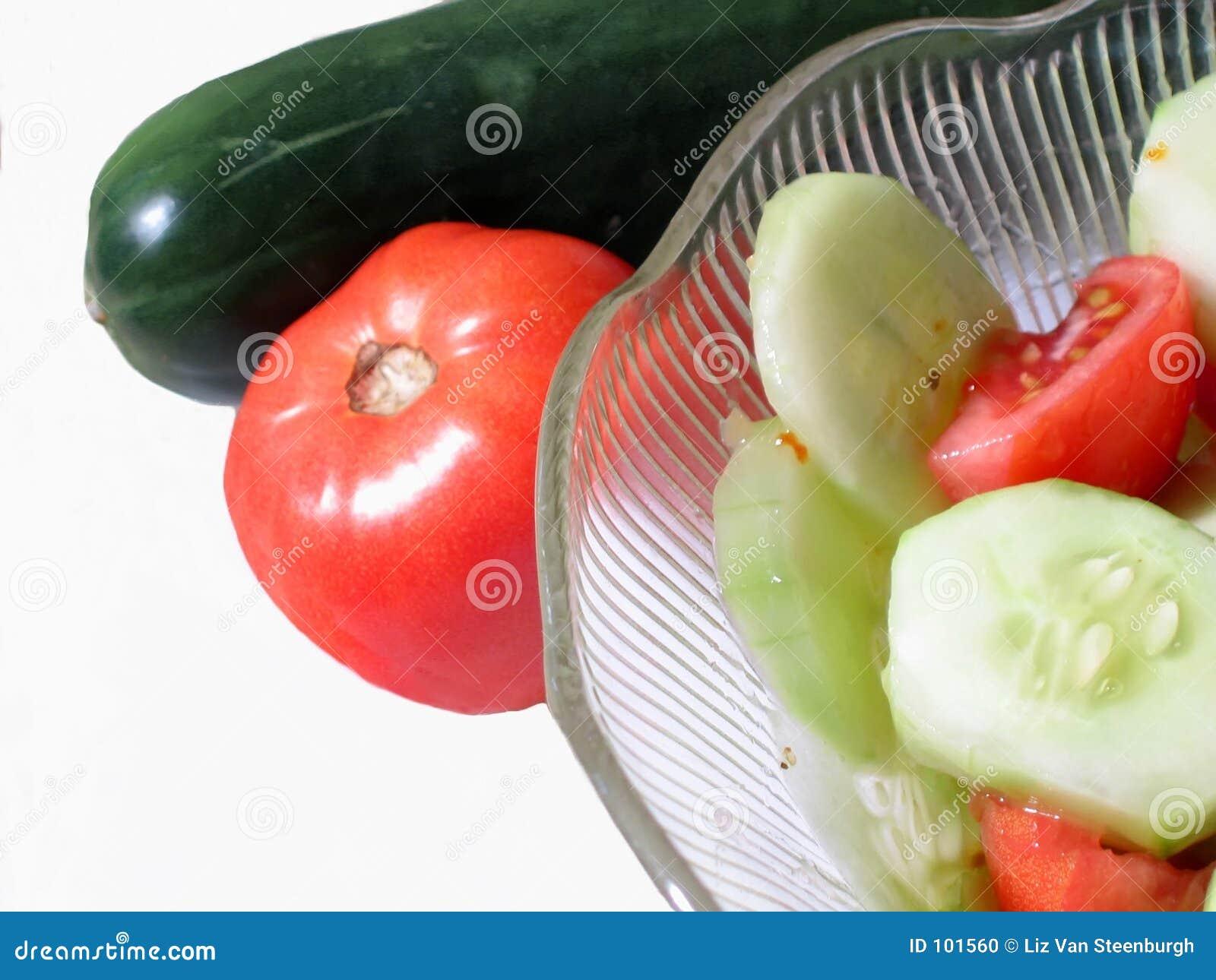 Tomate & Cucumer