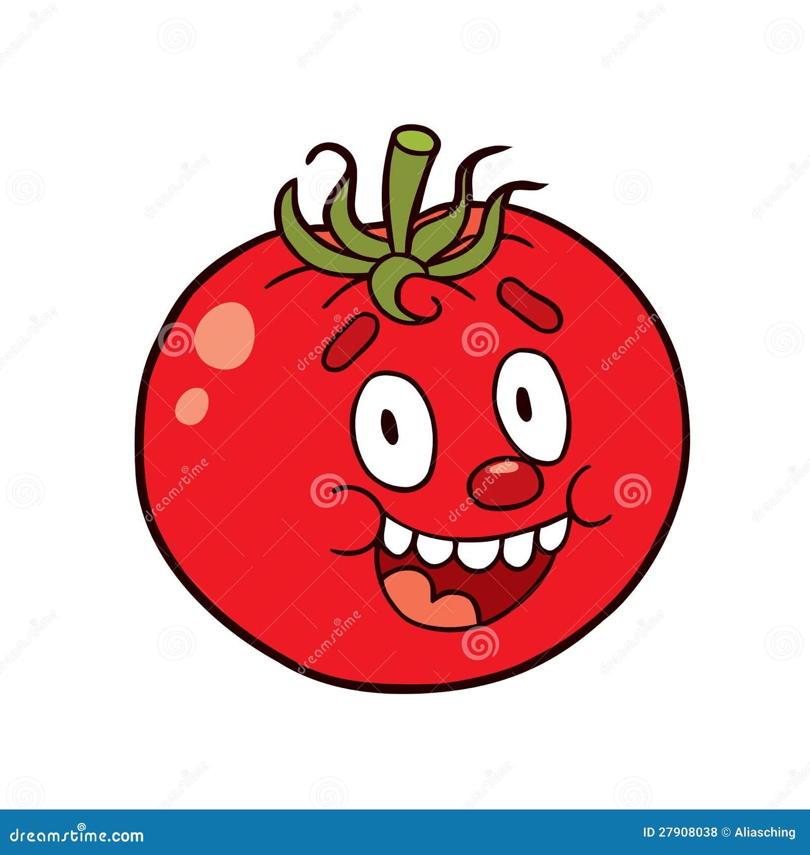 Tomate de dessin anim photos libres de droits image 27908038 - Tomate dessin ...