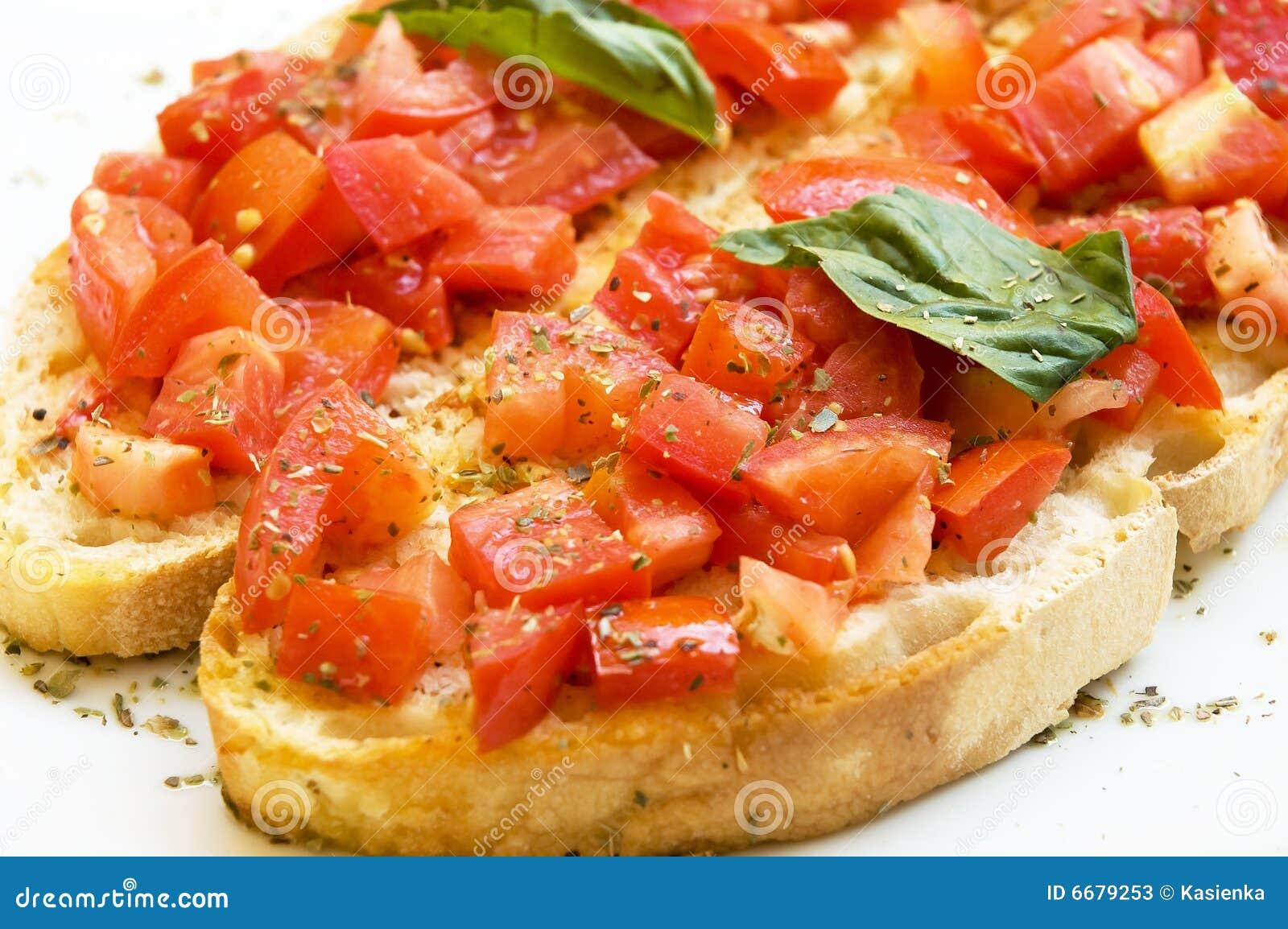 Tomate italiano do bruschetta