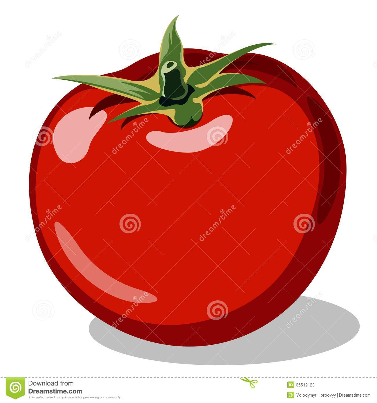 Tomate mûre rouge