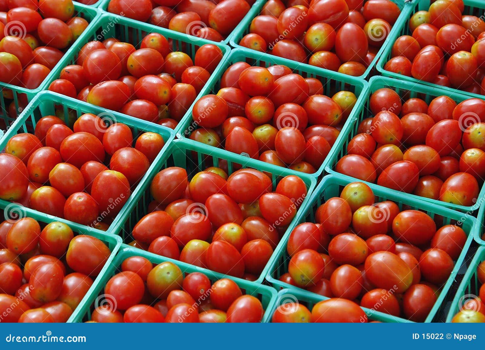 Tomate-Verkauf