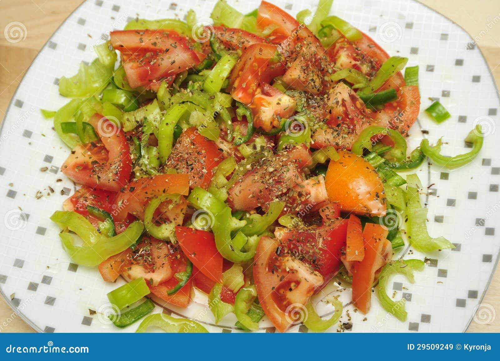 Tomaten en peper