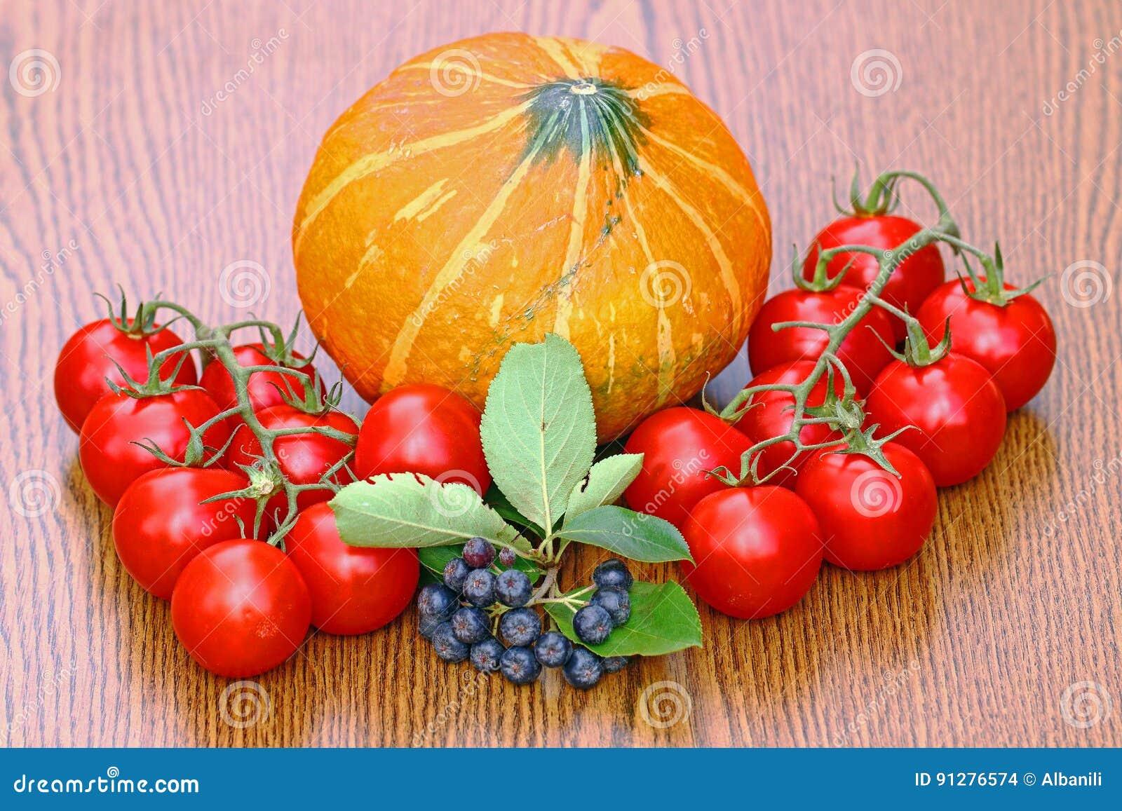 Tomater och pupkin